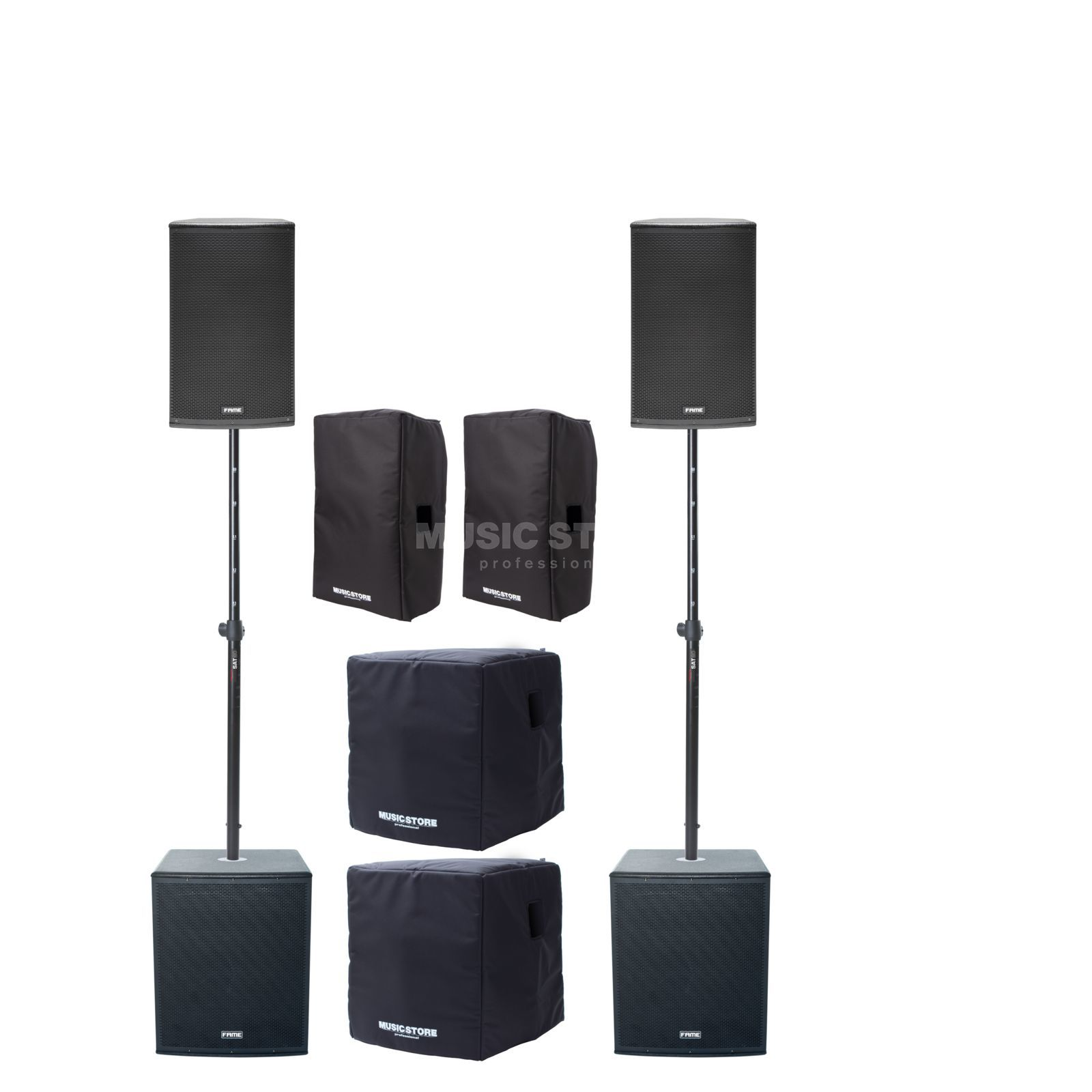 Indonesian Rupiah To Usd Fame Audio Emperor 15 Dsp Stage Set