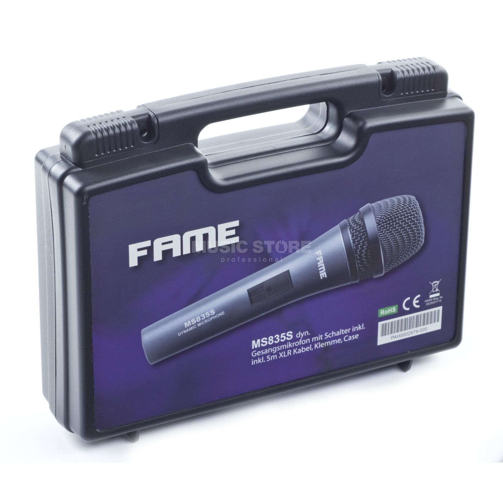 Fame audio MS 835 S Microphone dynamic+Switcher Produktbillede