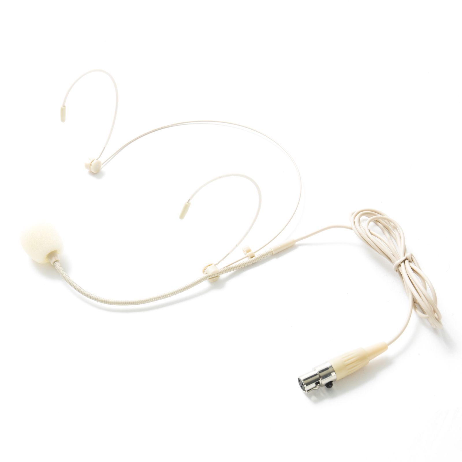 Fame audio MSW Pro HS Advanced mini XLR Headset, beige Productafbeelding
