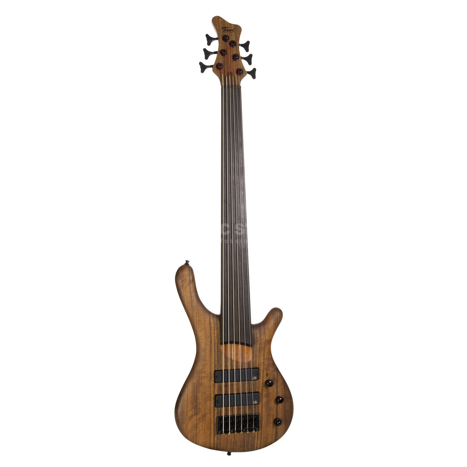 Fame Baphomet 6 Fretless NT 6-Strin g, E-Bass Guitar, Natural Product Image