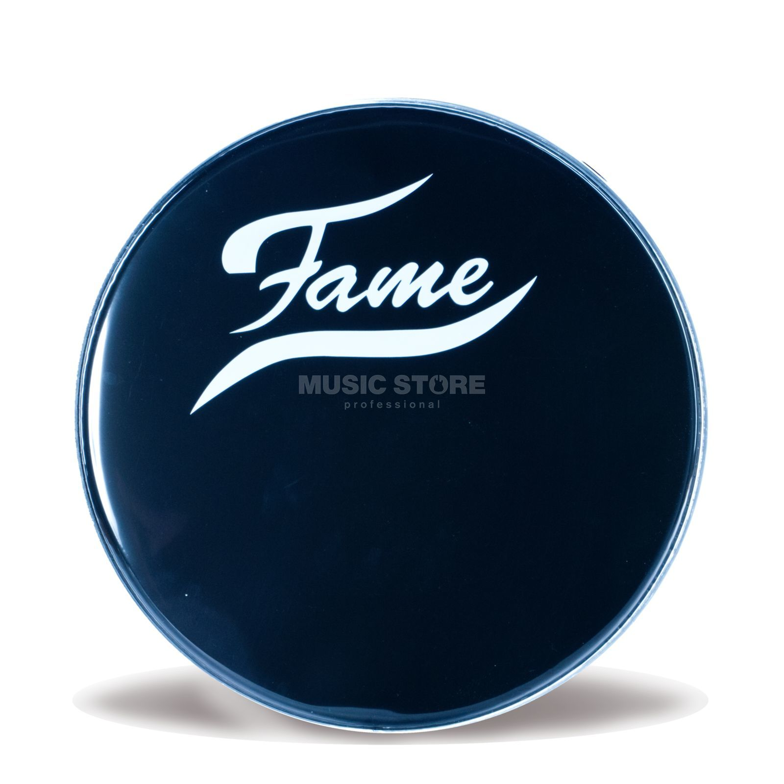 "Fame Bass Drum Front Head 22"", black, w/logo Изображение товара"