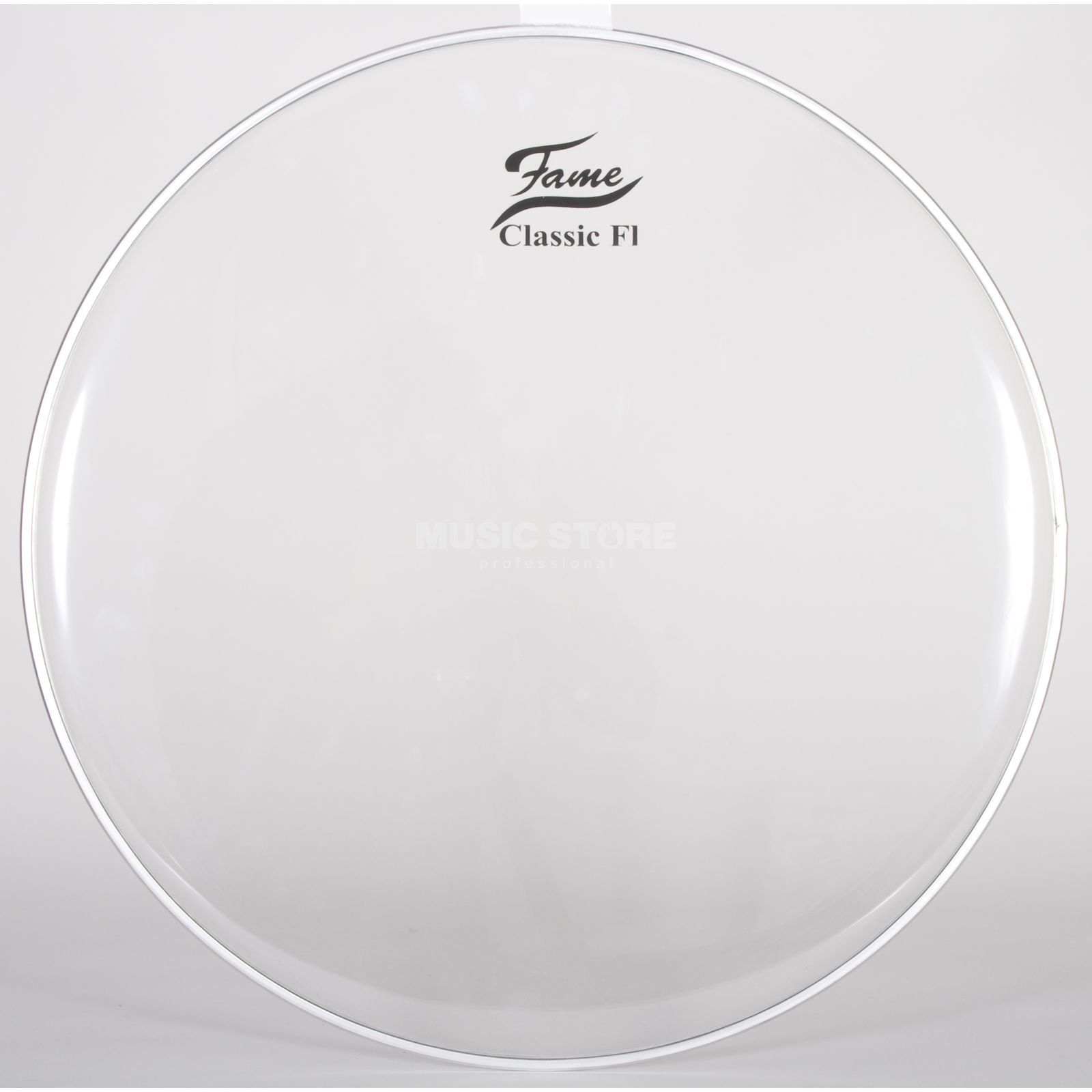"Fame Bass Drum Head Classic F1 20"", clear Produktbillede"