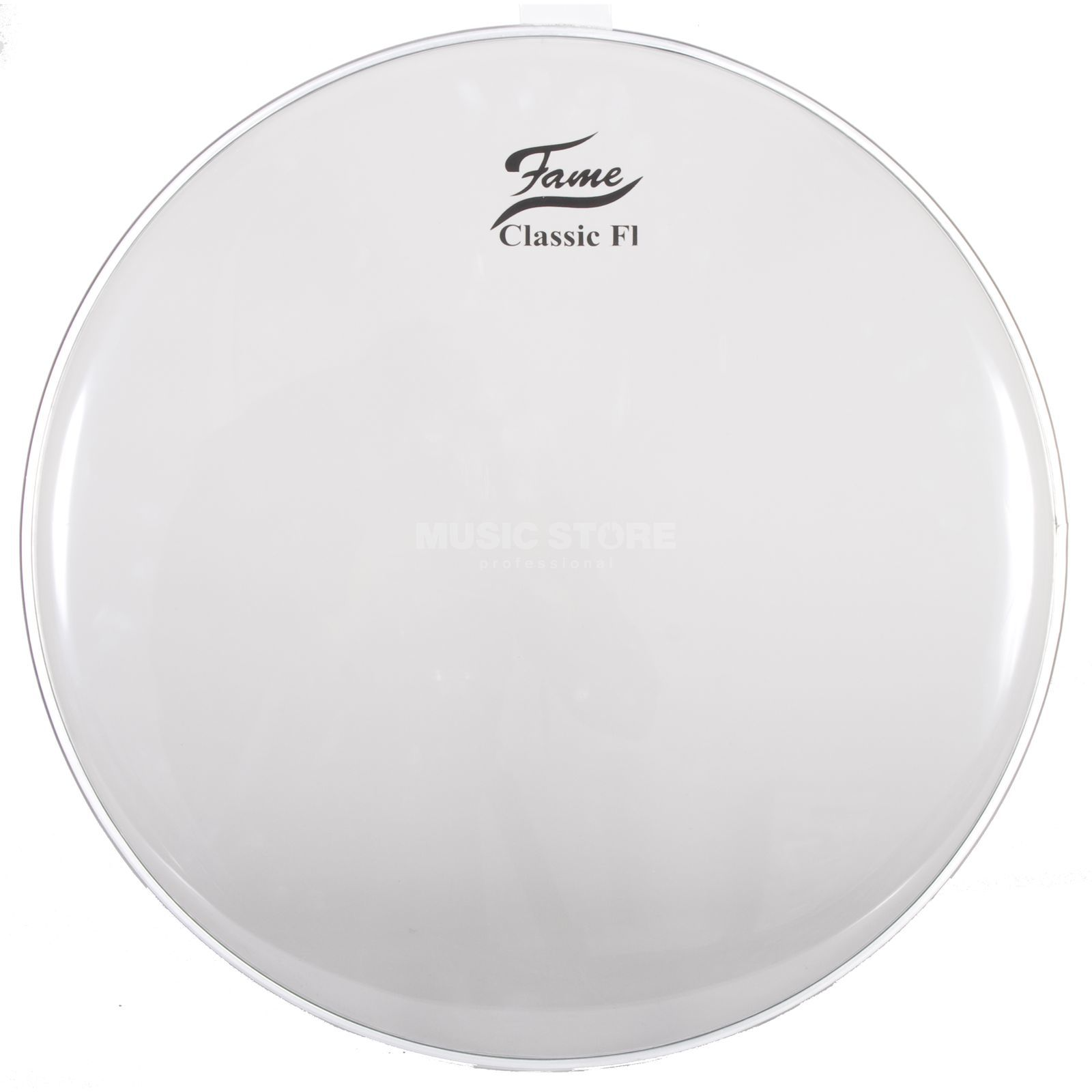 "Fame Bass Drum Head Classic F1 24"", clear Изображение товара"