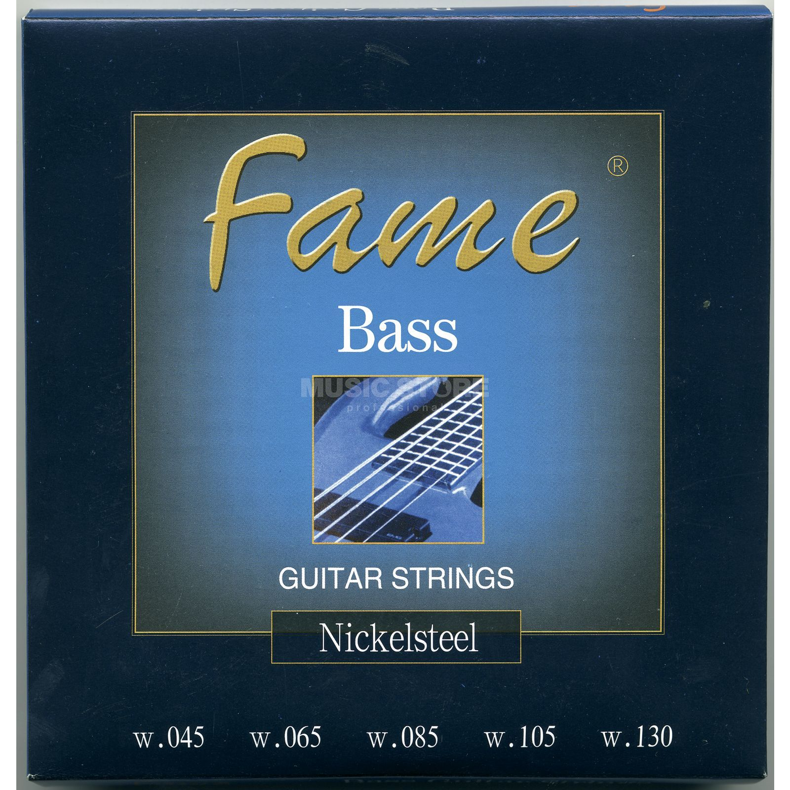 Fame Bass Strings,5er,45-130 round wound Product Image