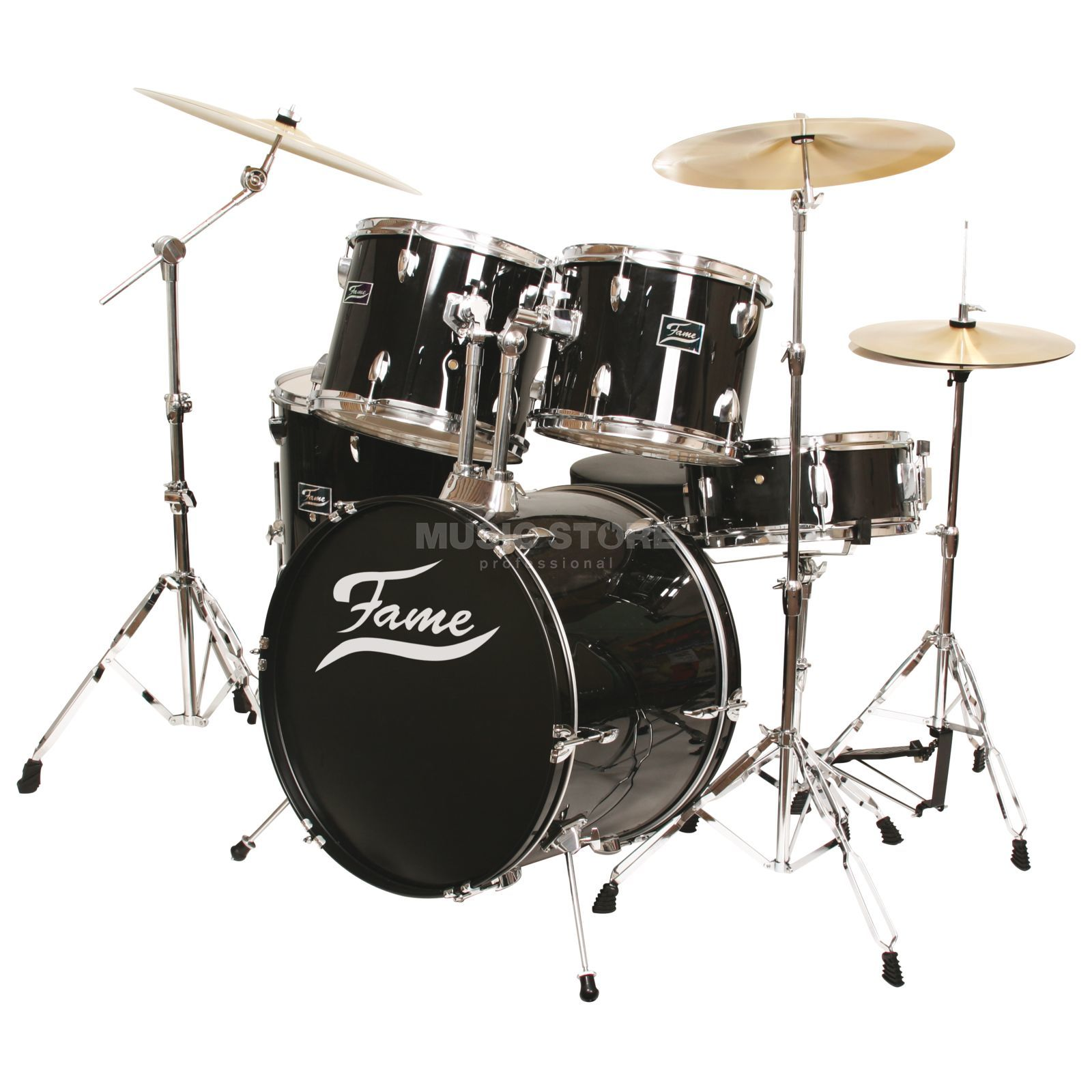 Fame Beginner Deluxe Set 5221, Black Produktbild