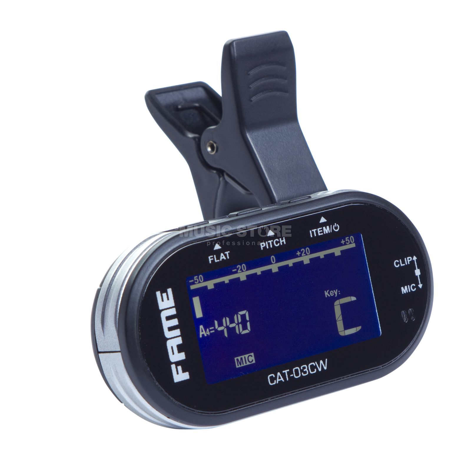 Fame CAT-03CW Clip-On-Tuner Produktbild