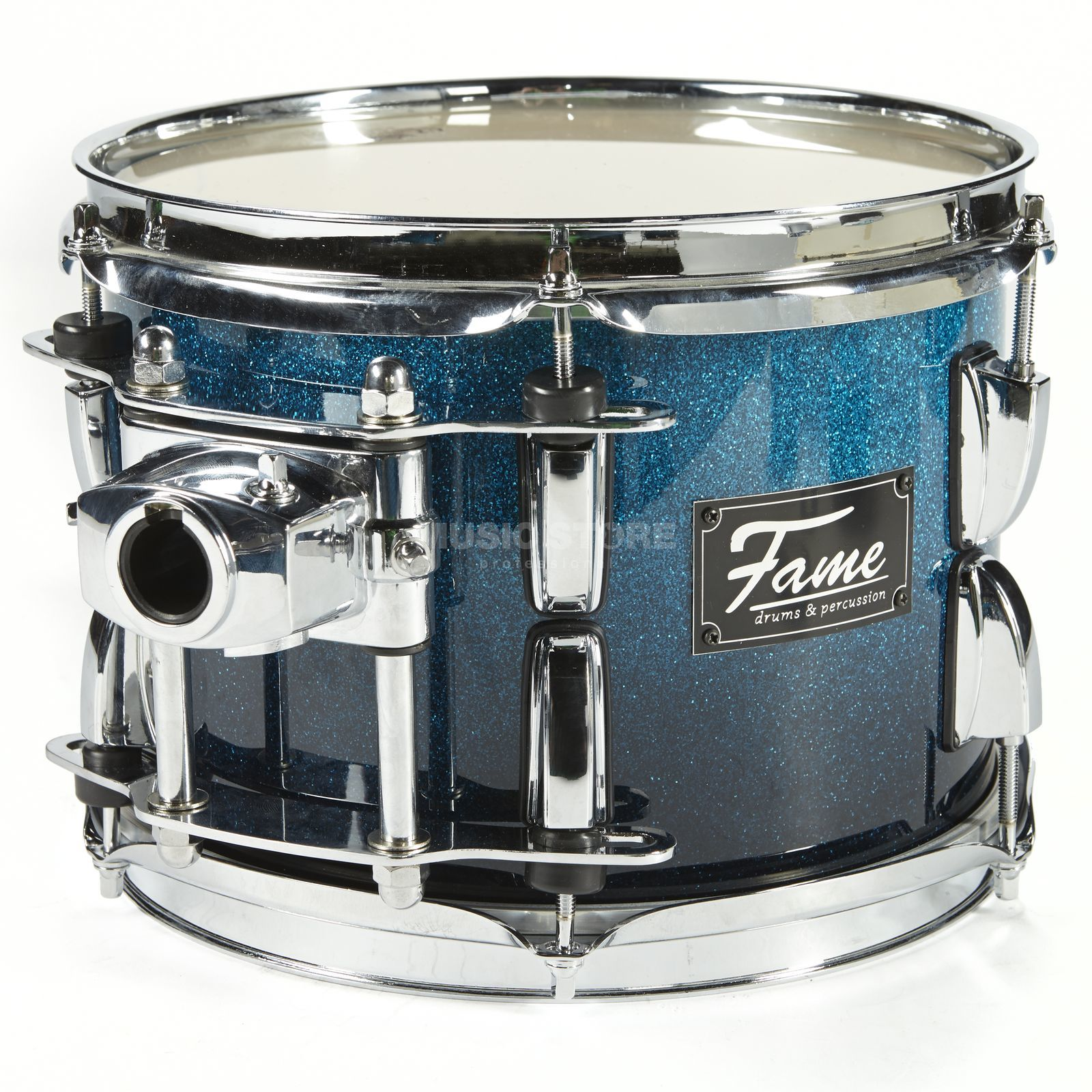 "Fame Fire Tom 10""x7"", #Blue Fade Sparkle Produktbild"