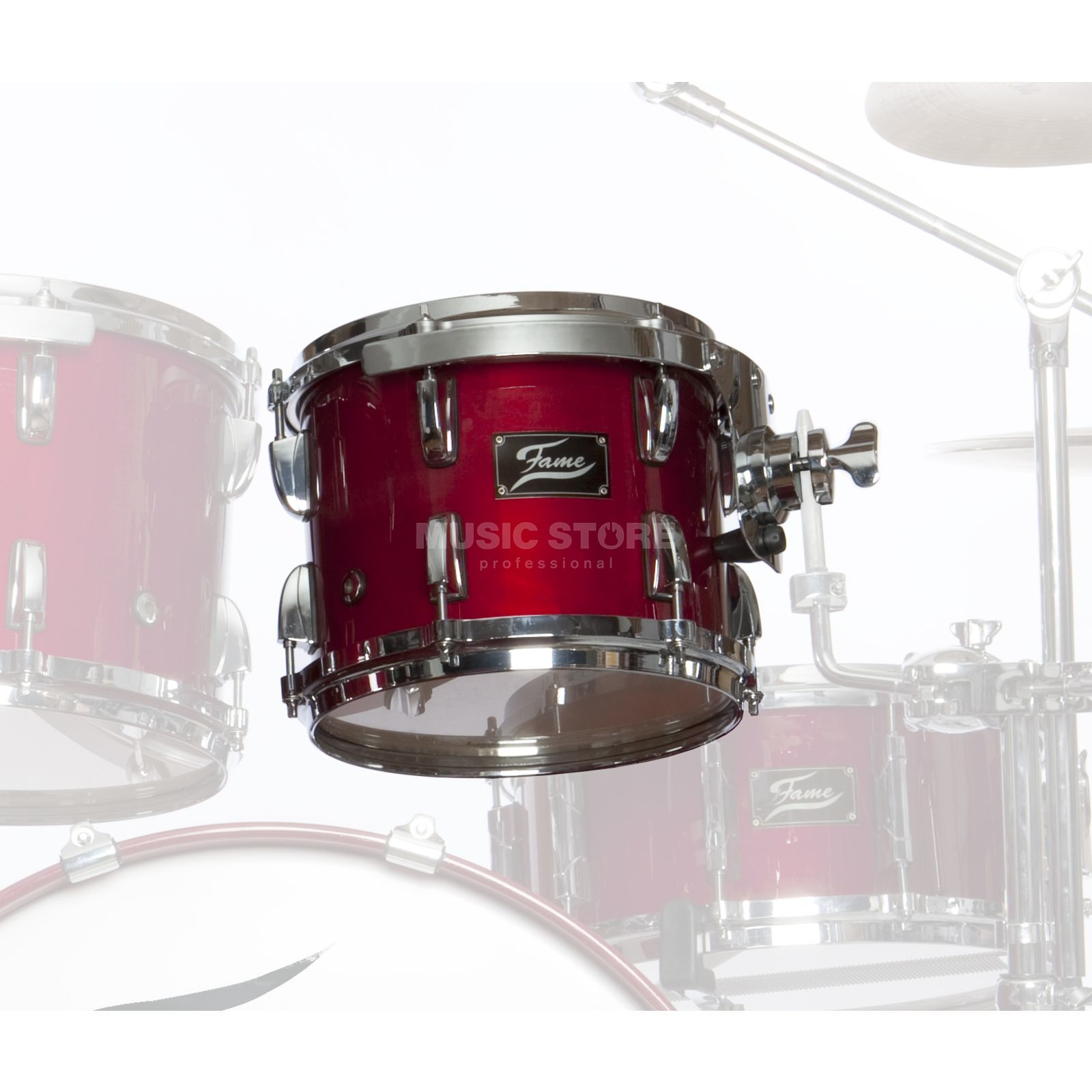 "Fame FMP Tom 10""x8"", #Cherry Red Produktbild"