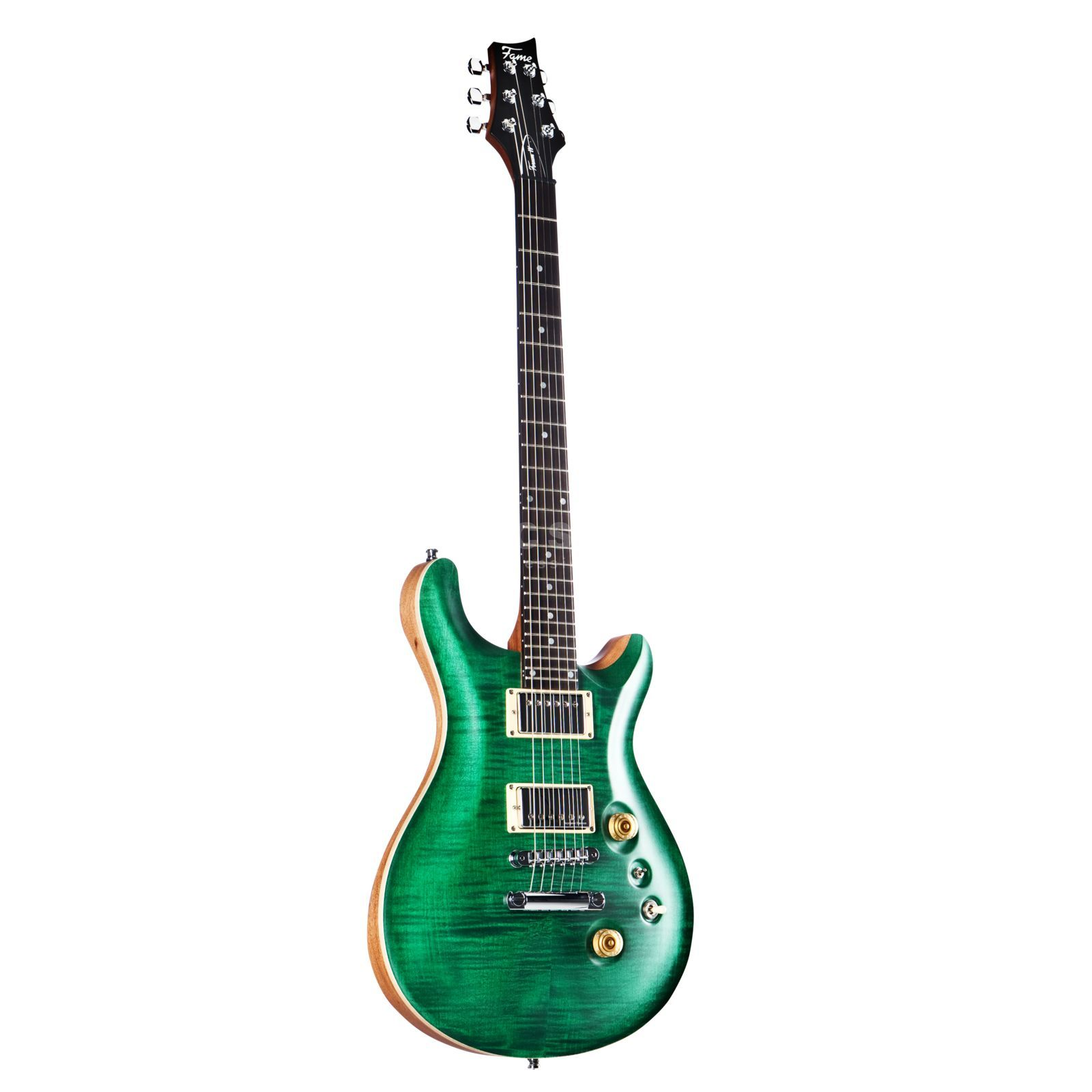 Fame Forum IV Classic Emerald Green Satin Product Image