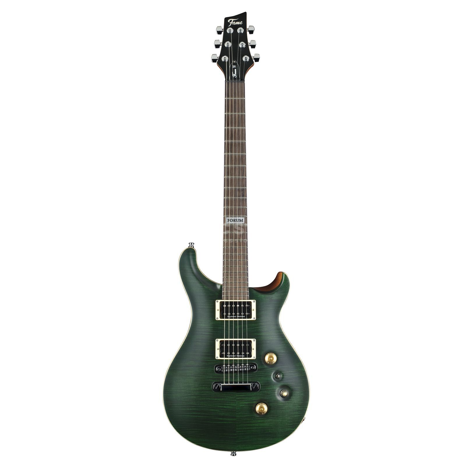Fame Forum IV SD Emerald Green Satin Produktbild