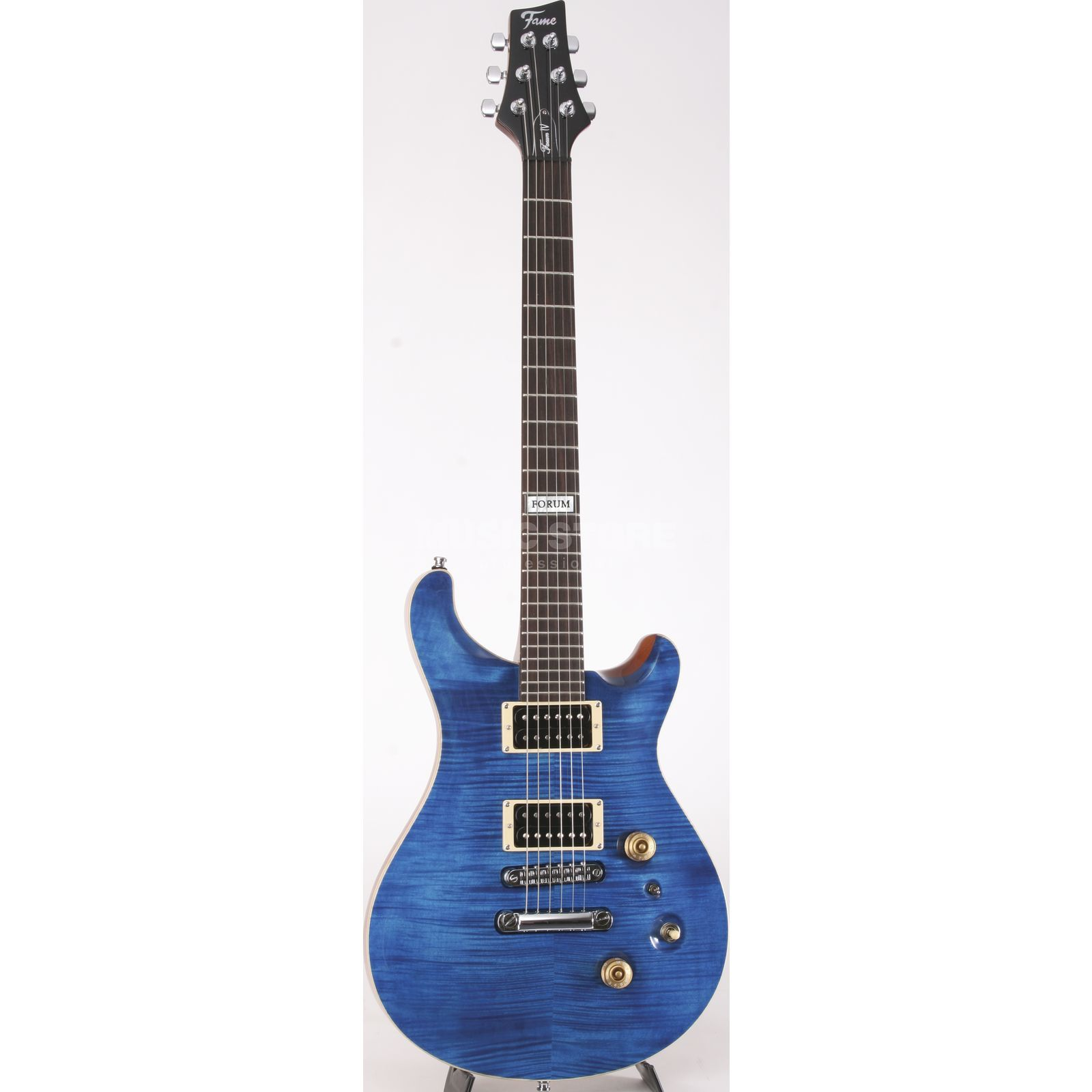 Fame Forum IV SD Transparent Blue Product Image