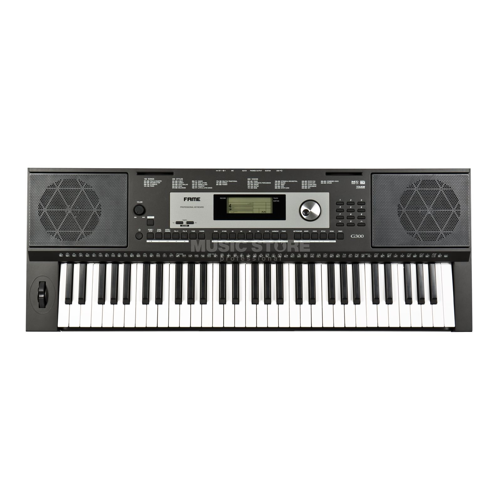 Fame G-300 Homekeyboard Product Image