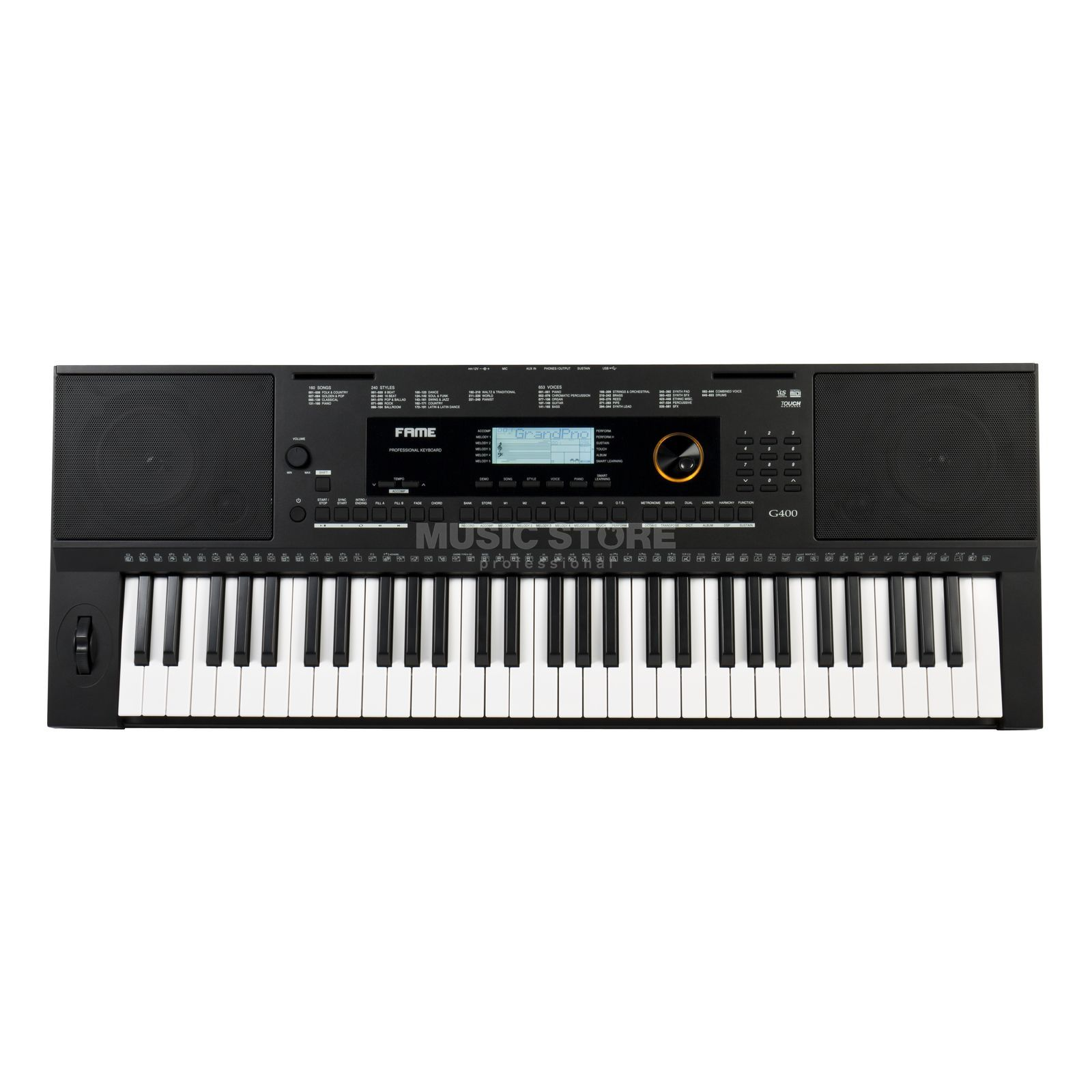Fame G-400 Keyboard Product Image
