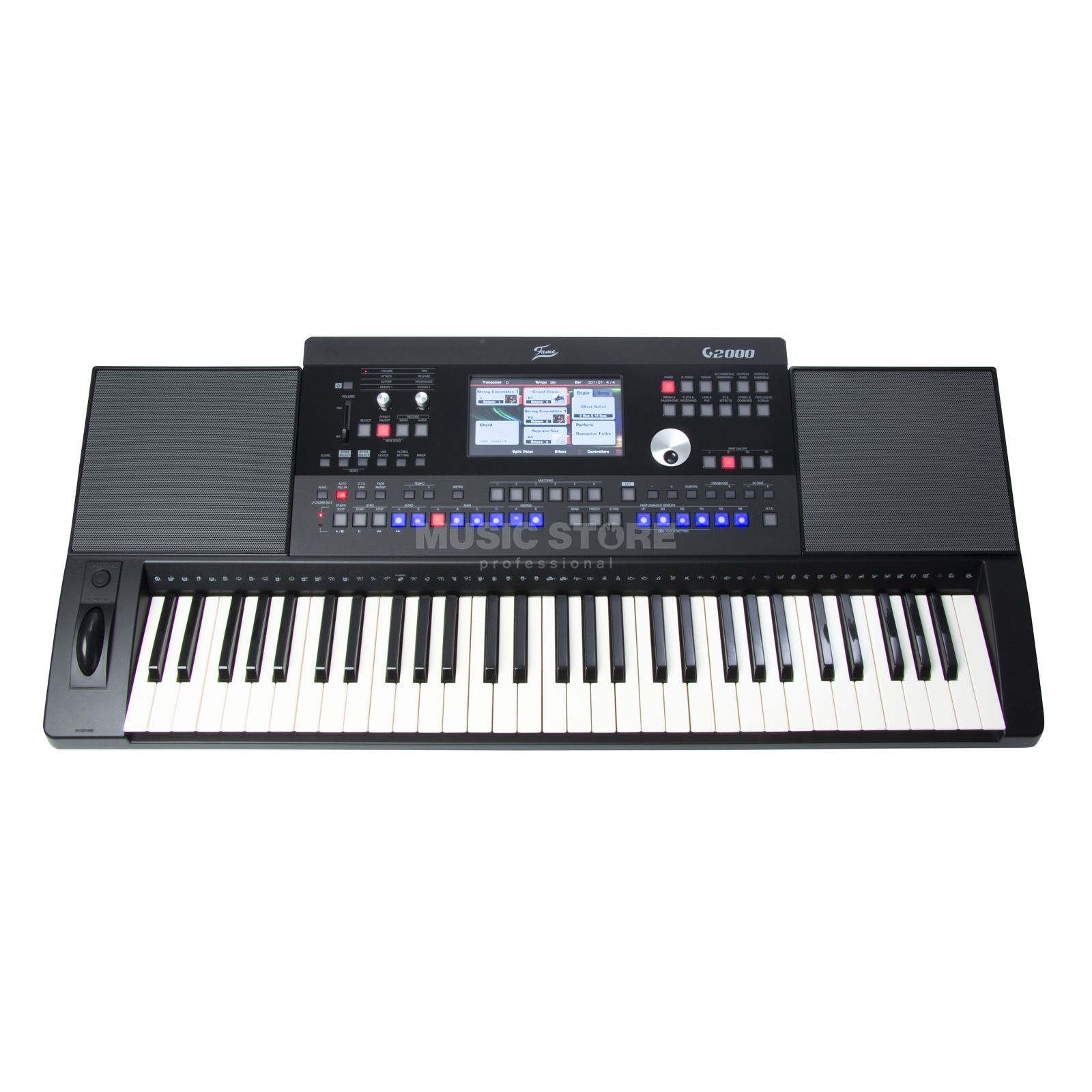Fame G2000 Workstation Keyboard 61 Touch-Sensitive Keys Produktbillede