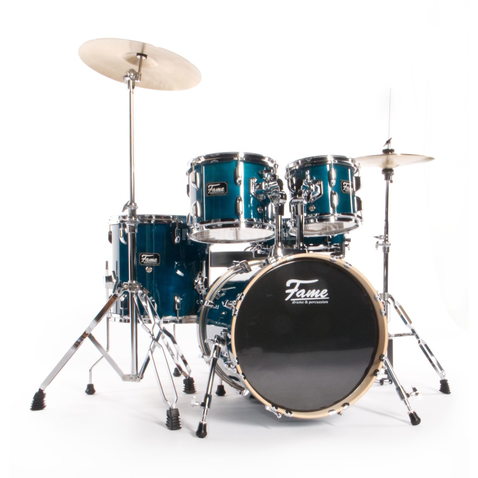 Fame Maple Standard Jungle Set, #T³rkis Produktbillede