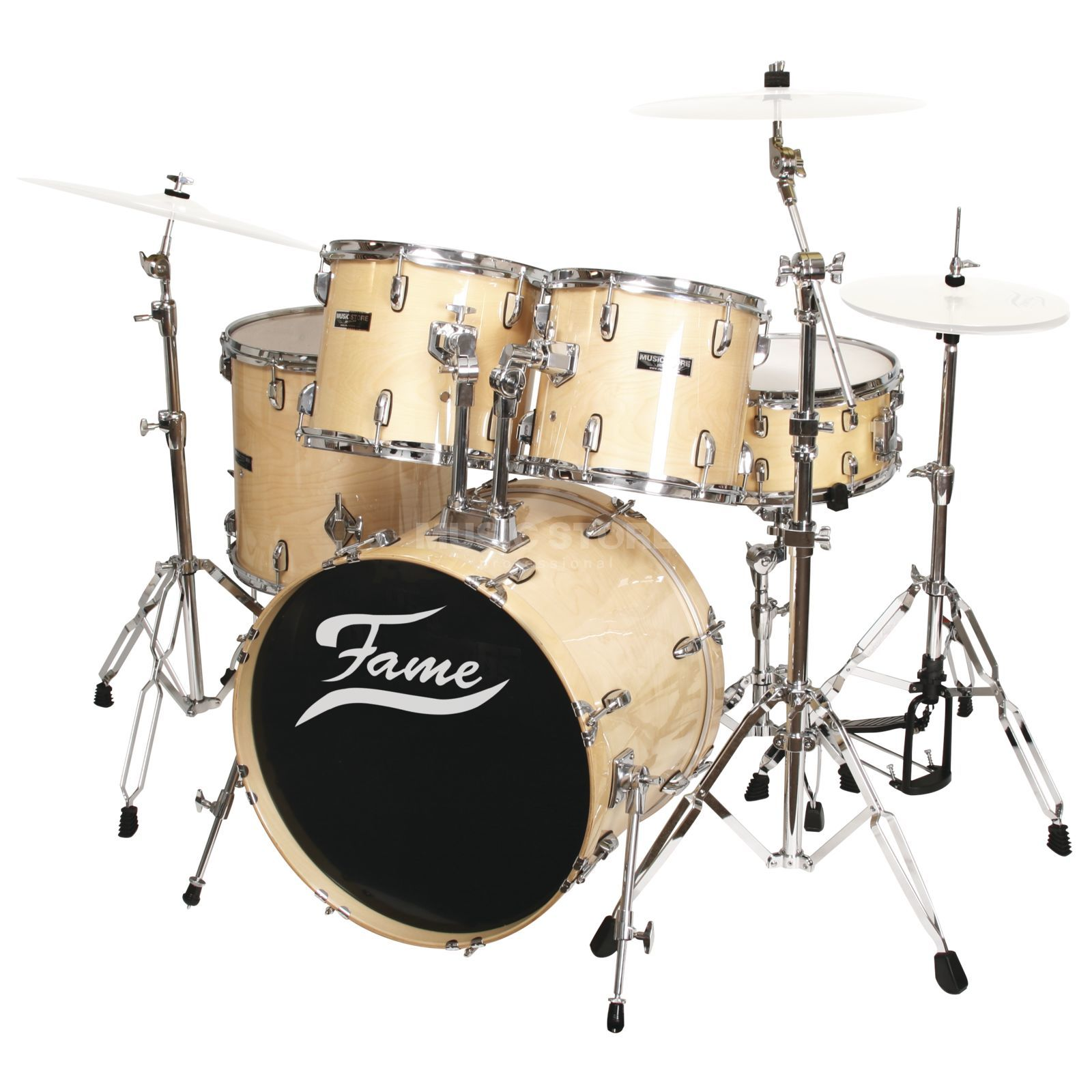Fame Maple Standard Set 5201, #Natural Produktbillede