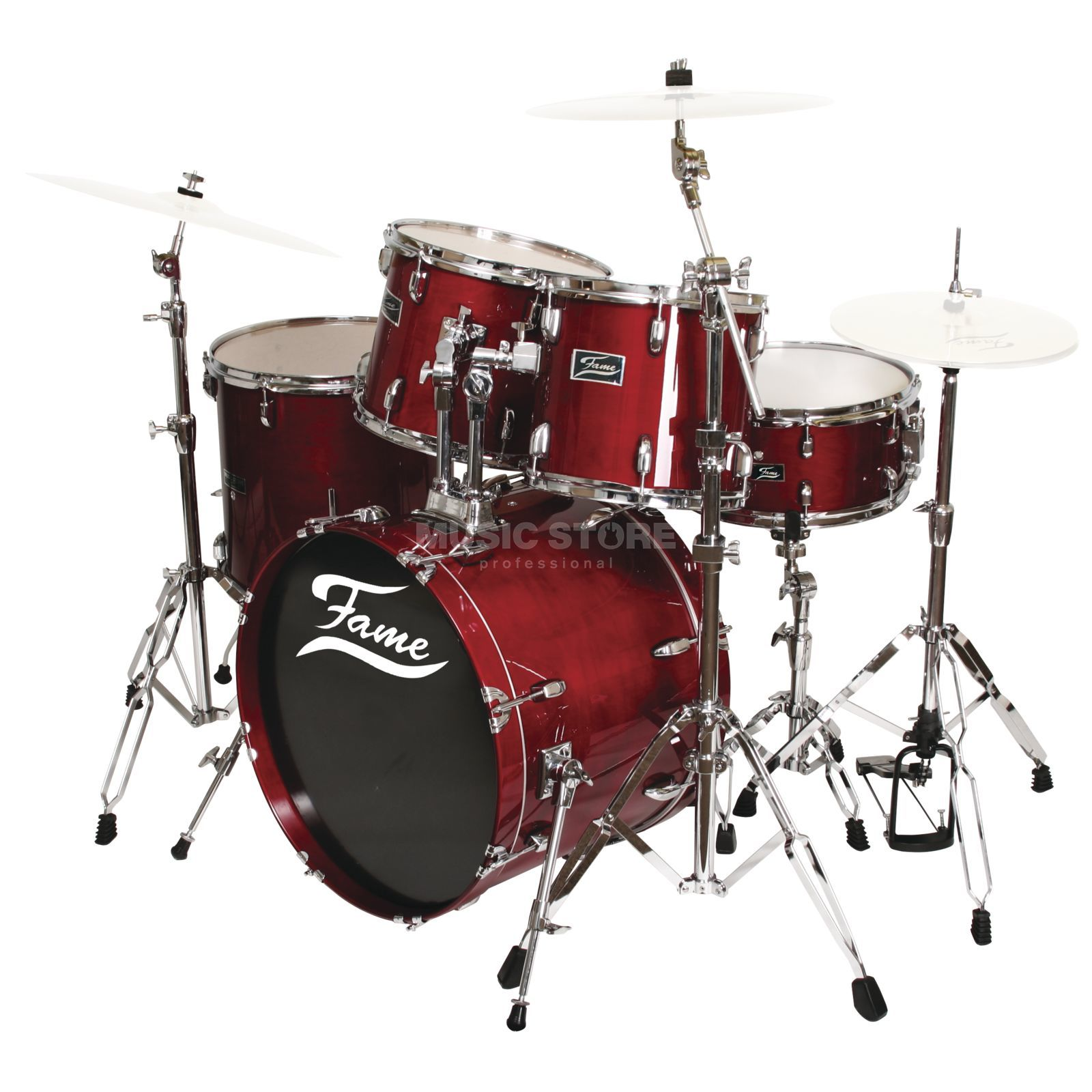 Fame Maple Standard Set 5221, # Red Produktbillede