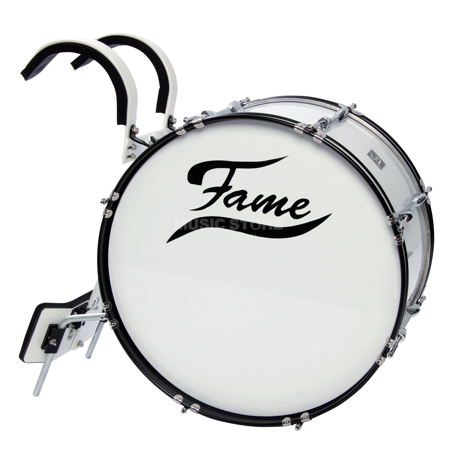 "Fame Marching BassDrum 22""x12"", incl. Carrier Product Image"