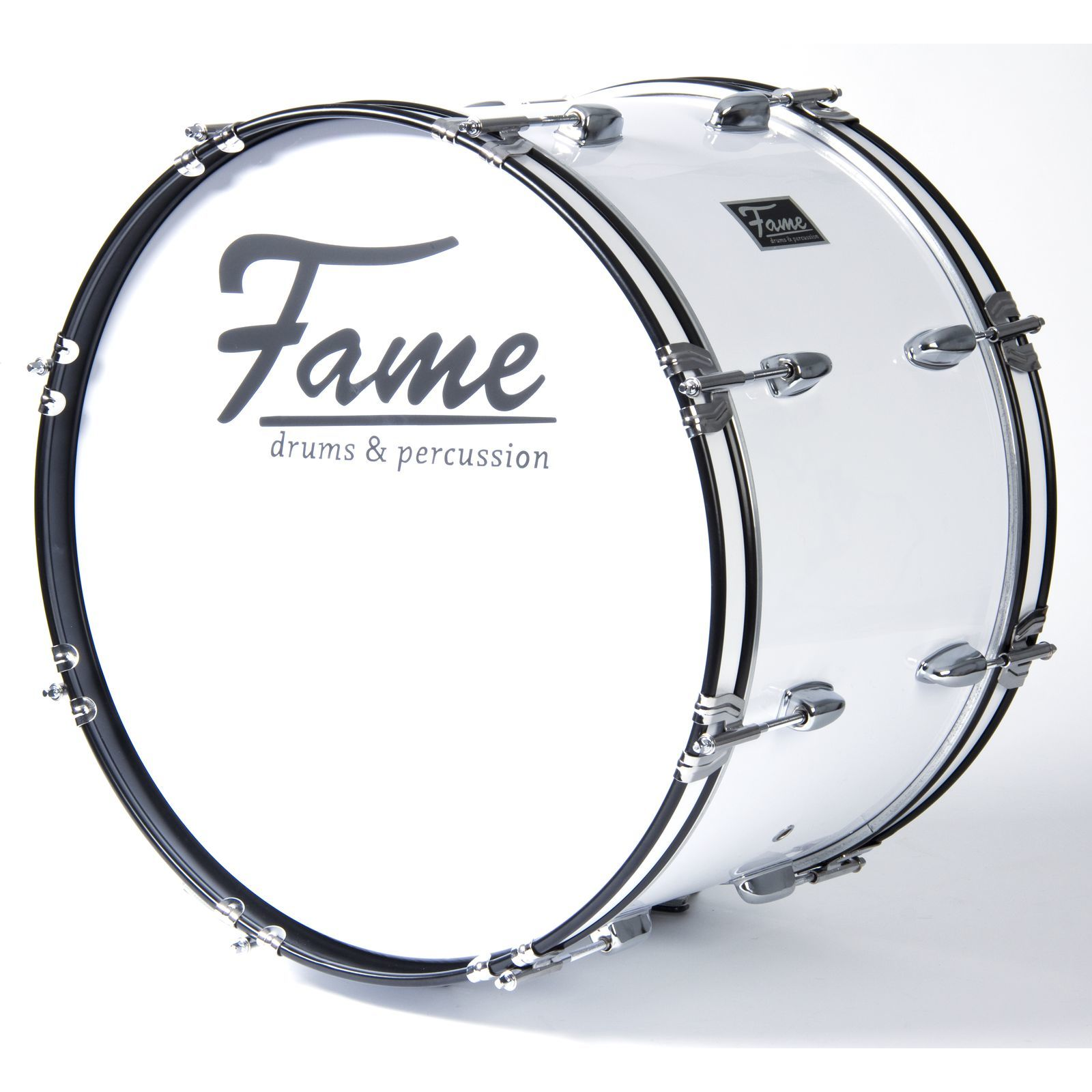 "Fame Marching BassDrum 24""x12"", with Tragegurt & Beater Produktbillede"