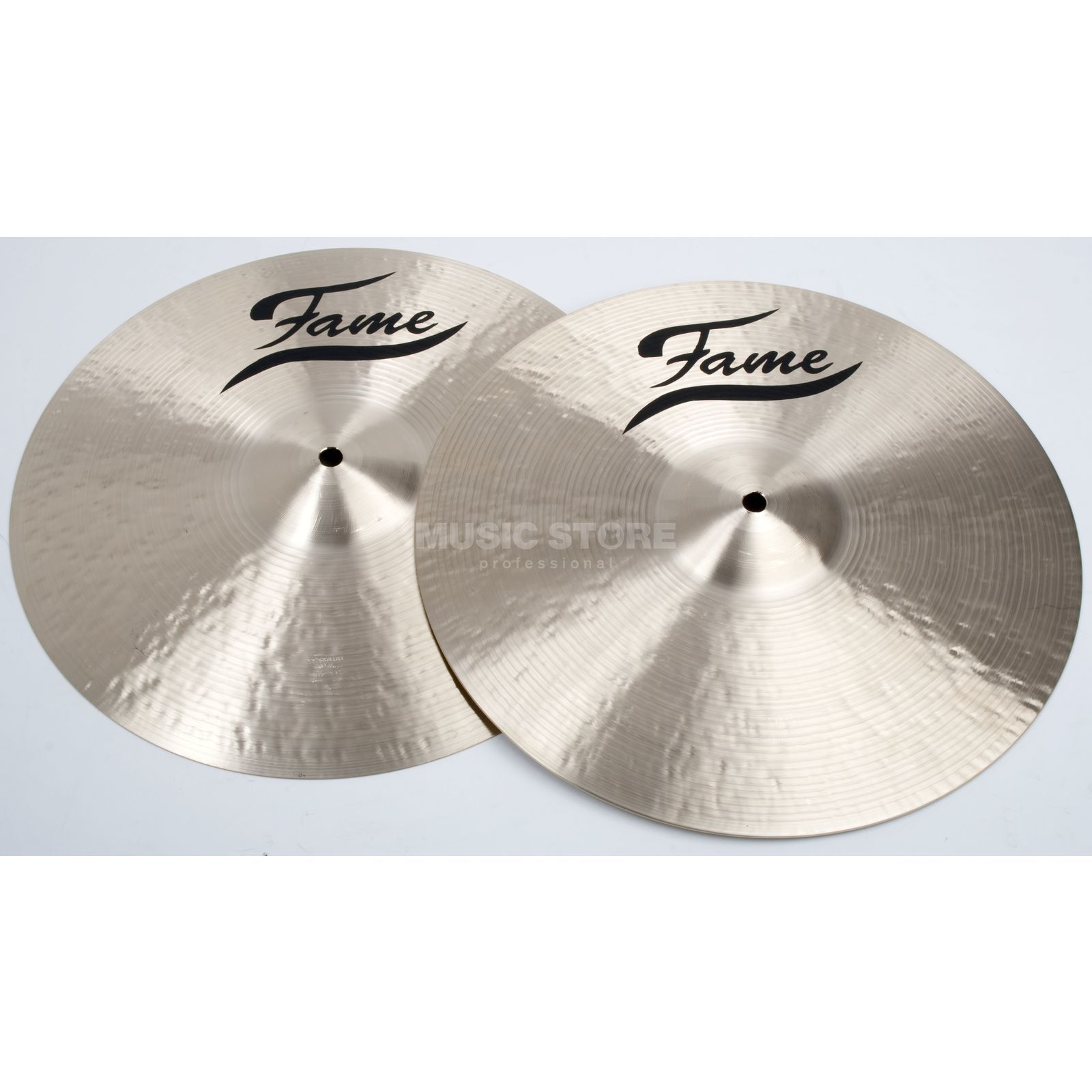 "Fame Masters B20 Heavy HiHat 14"", Natural Finish Produktbild"