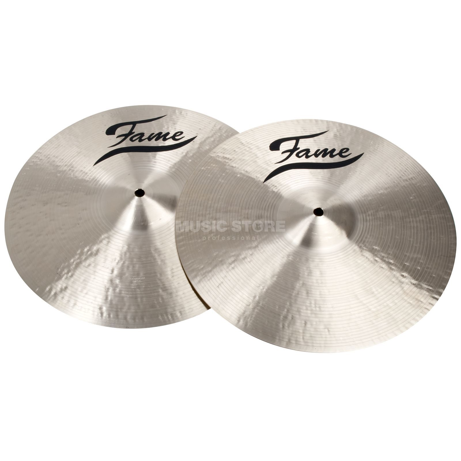 "Fame Masters B20 HiHat 14"" Natural Finish Product Image"