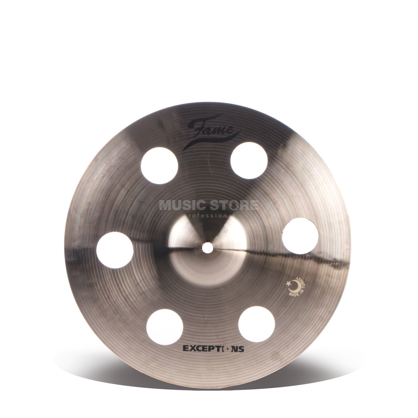 "Fame Masters B20 Holey Crash 14"" Natural Finish Imagem do produto"