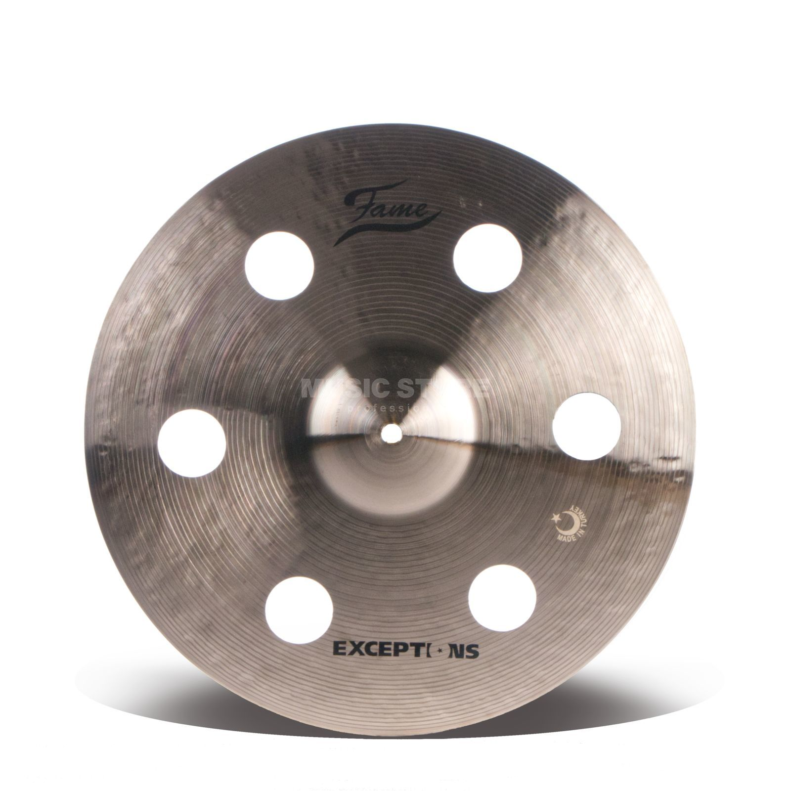 "Fame Masters B20 Holey Crash 16"" Natural Finish Produktbillede"