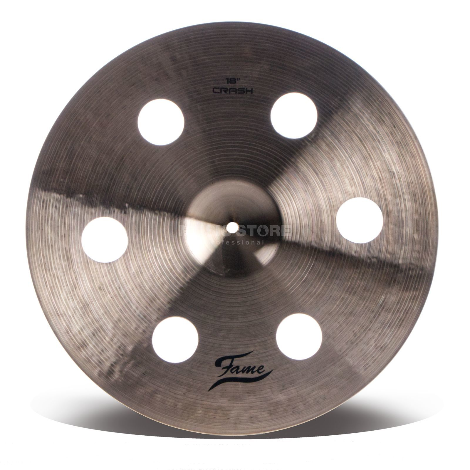 "Fame Masters B20 Holey Crash 18"" Natural Finish Produktbild"