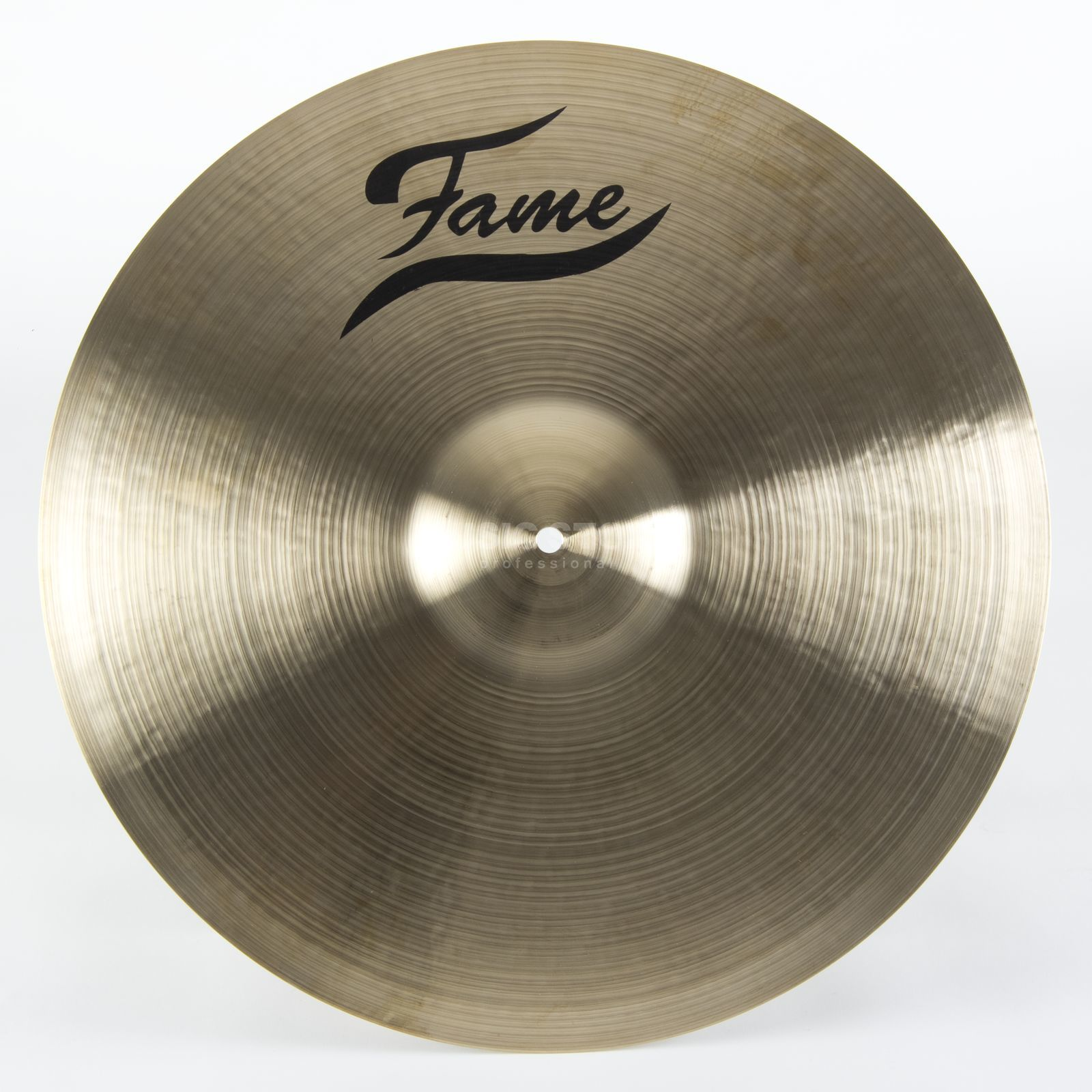 "Fame Masters B20 Medium Ride 22"", Natural Finish Produktbillede"