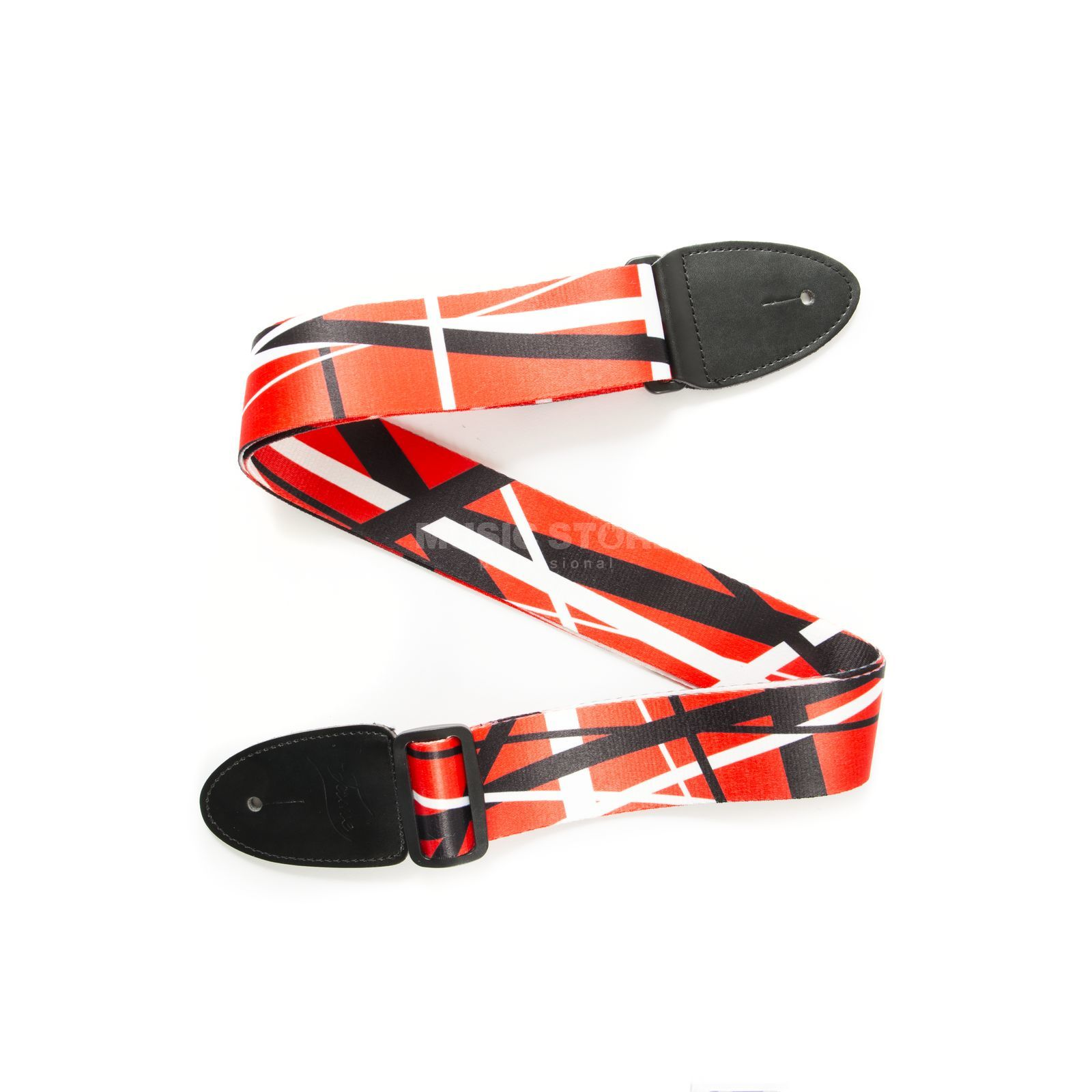 Fame Nylon Series Stripes Red/White/Black Productafbeelding