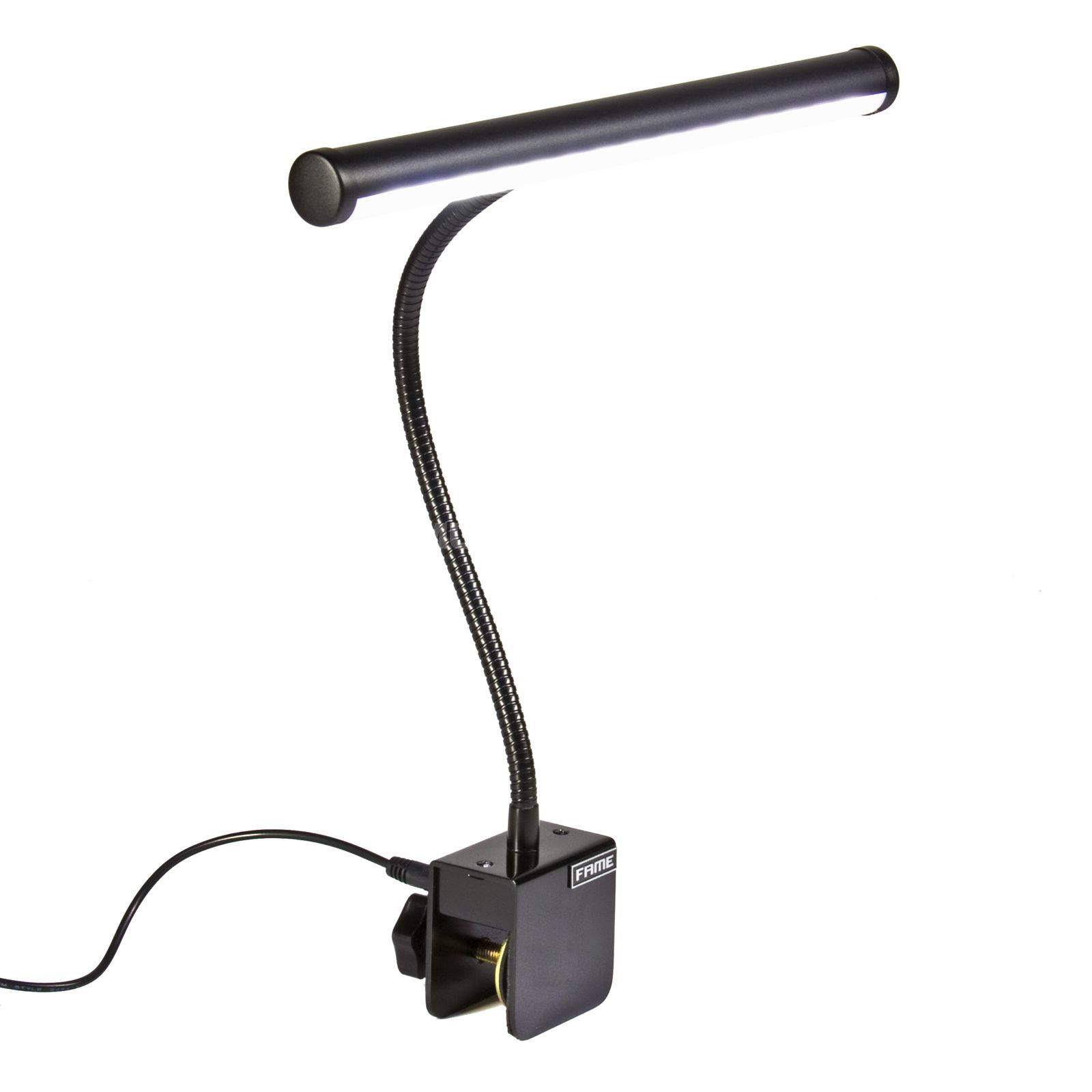 Fame PL-101 BK Piano Lamp LED Produktbild