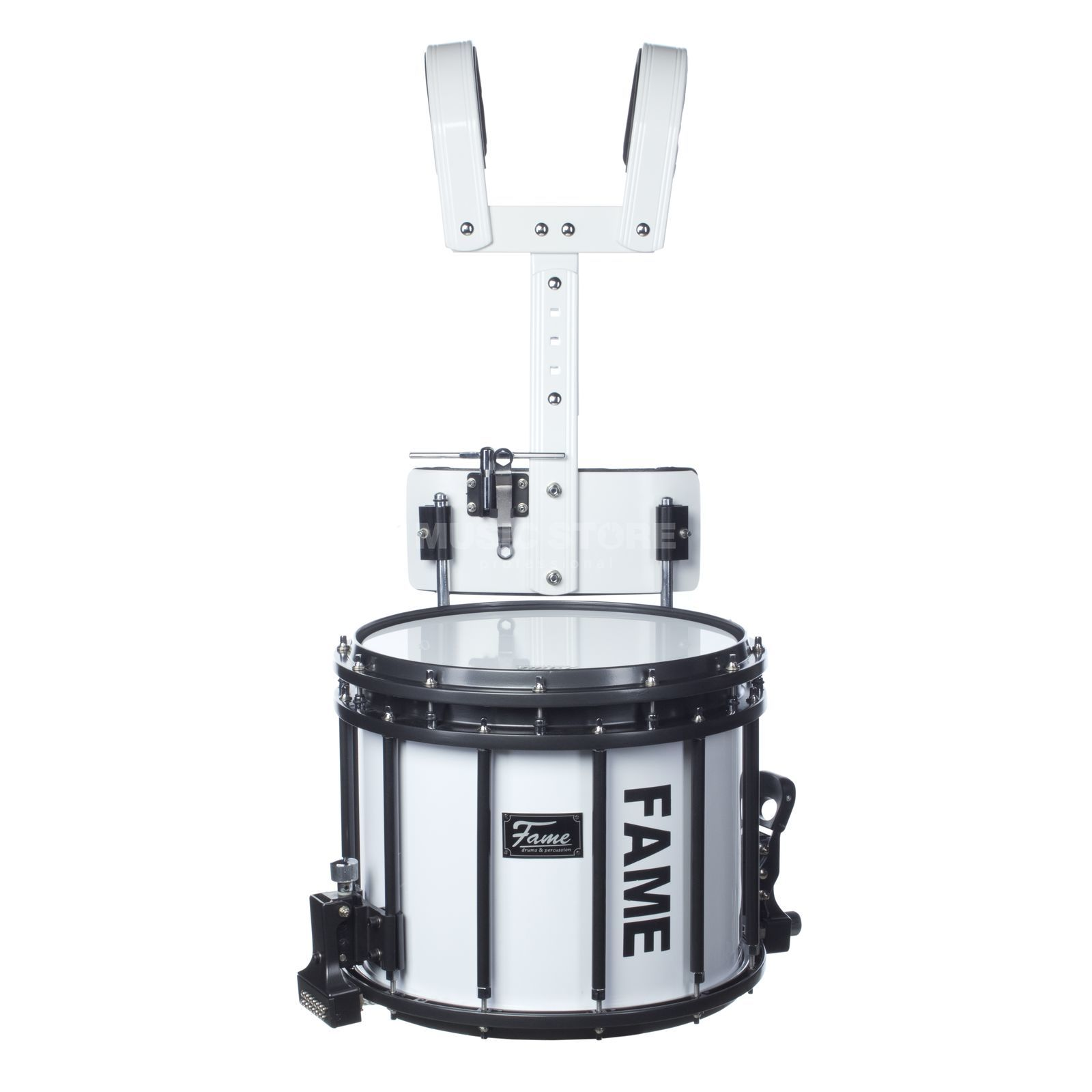 "Fame Prof.A Marching Snare 14x12"" Birch, inkl. Tragegestell Produktbild"