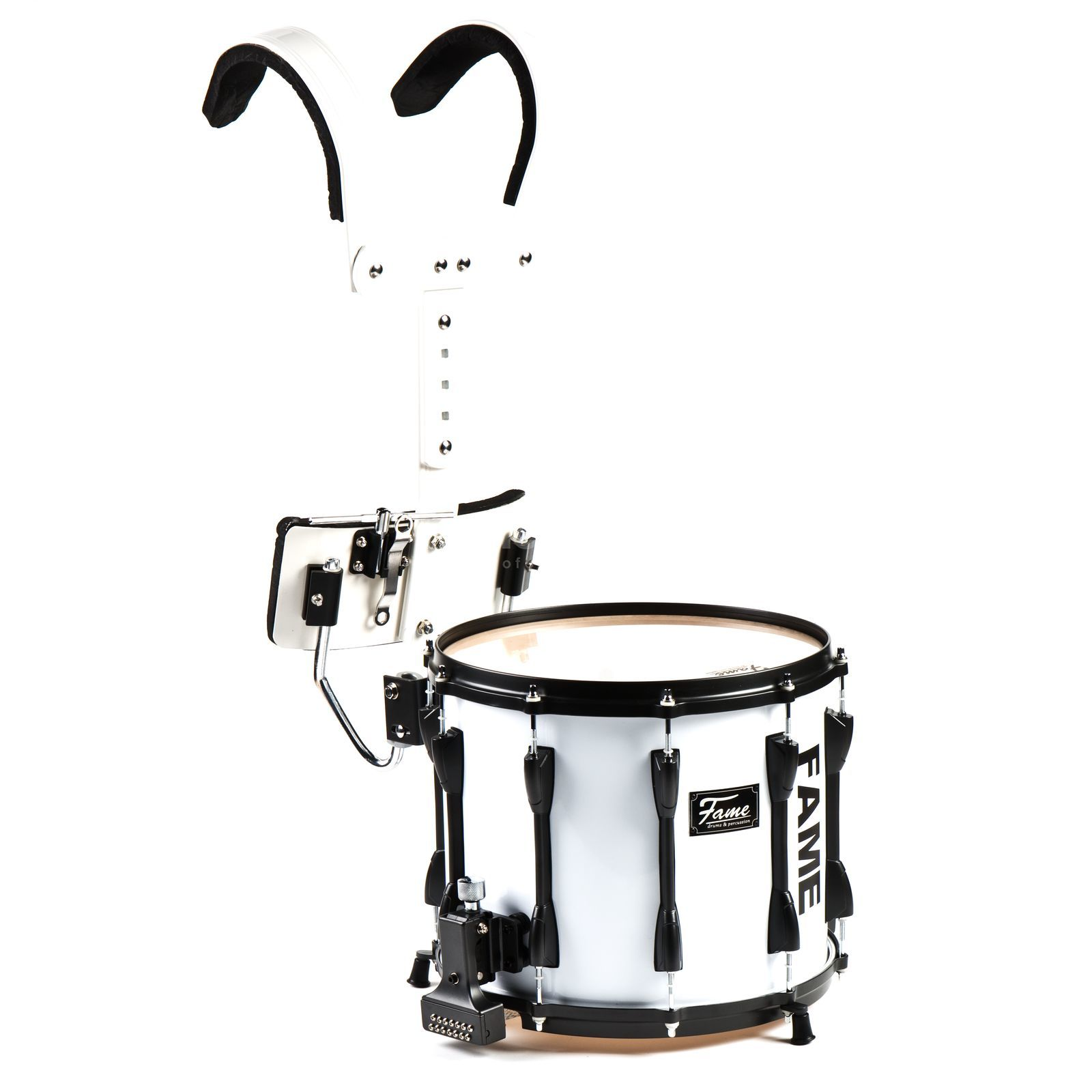 "Fame Prof.B Marching Snare 14x12"" Birch, incl. Carrier Product Image"