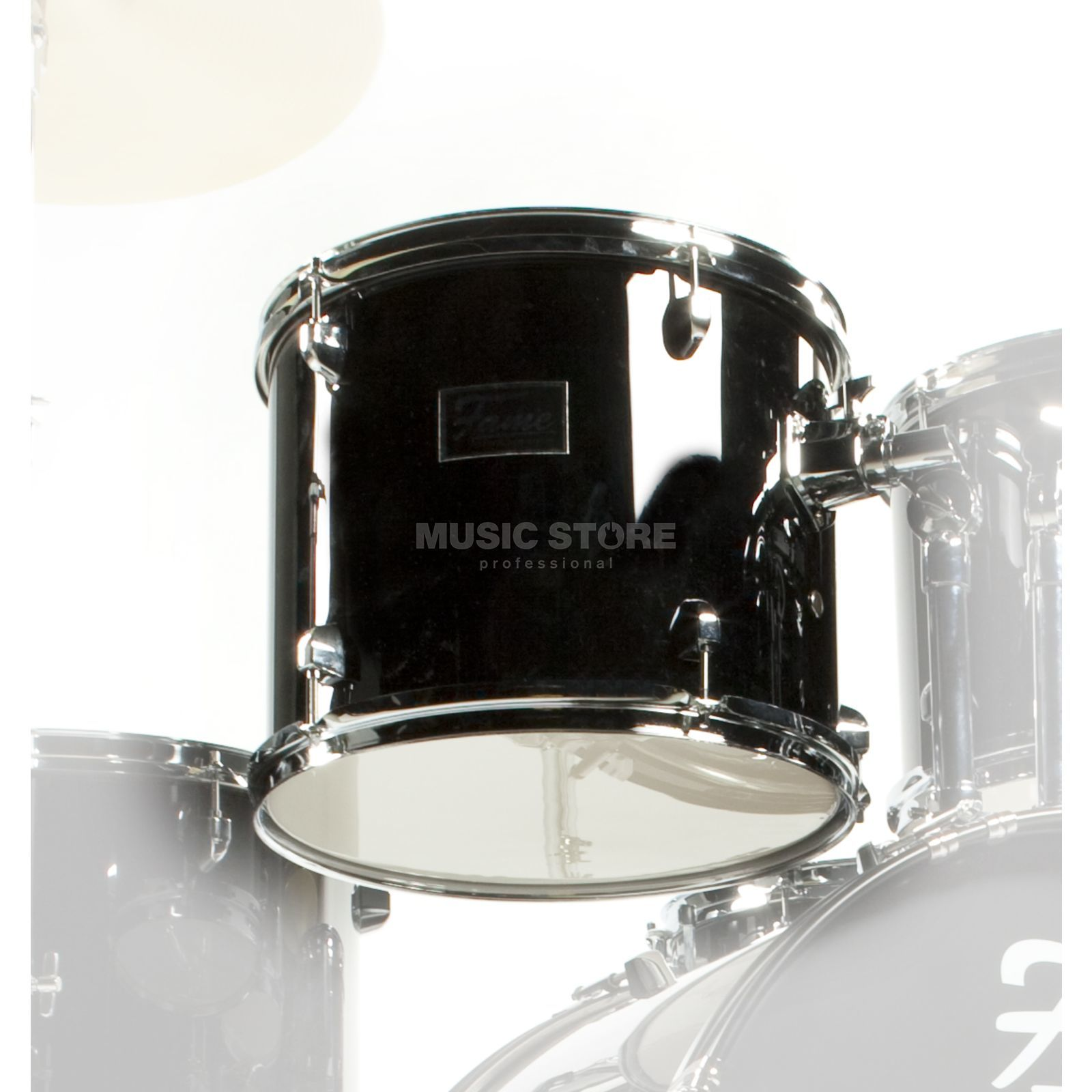 "Fame Spark Tom 10""x9"", Black Product Image"