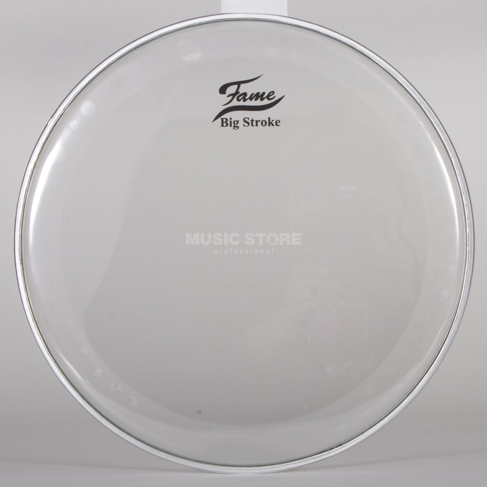 "Fame Tom Head Big Stroke, 18"", hydraulic, clear Produktbillede"