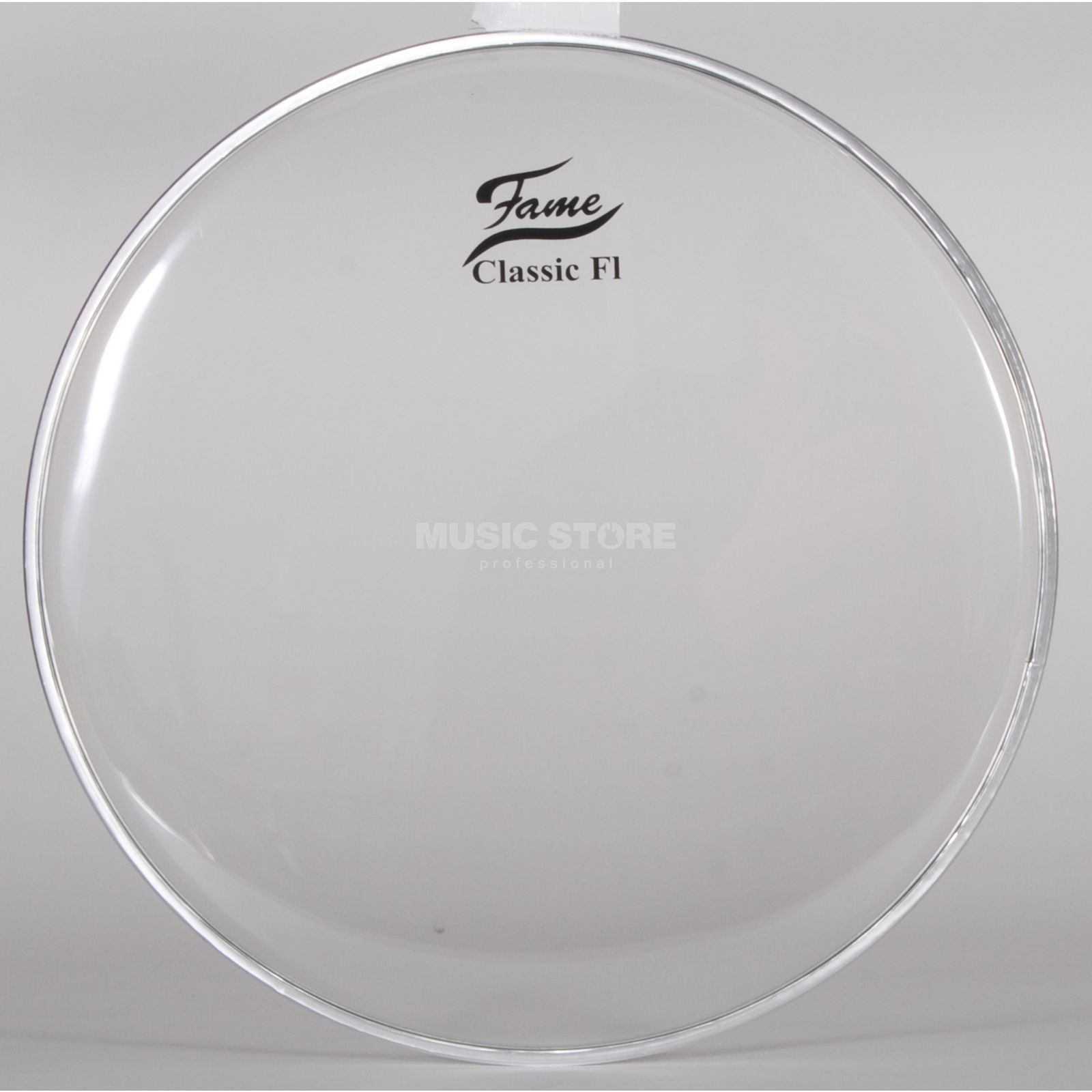 "Fame Tom Head Classic F1, 10"", clear Produktbillede"