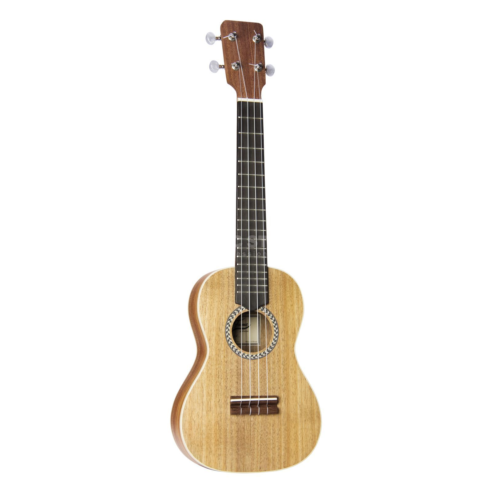 Fame Ukulele Konzert Port. Koa,vollmassiv,incl. Bag Product Image