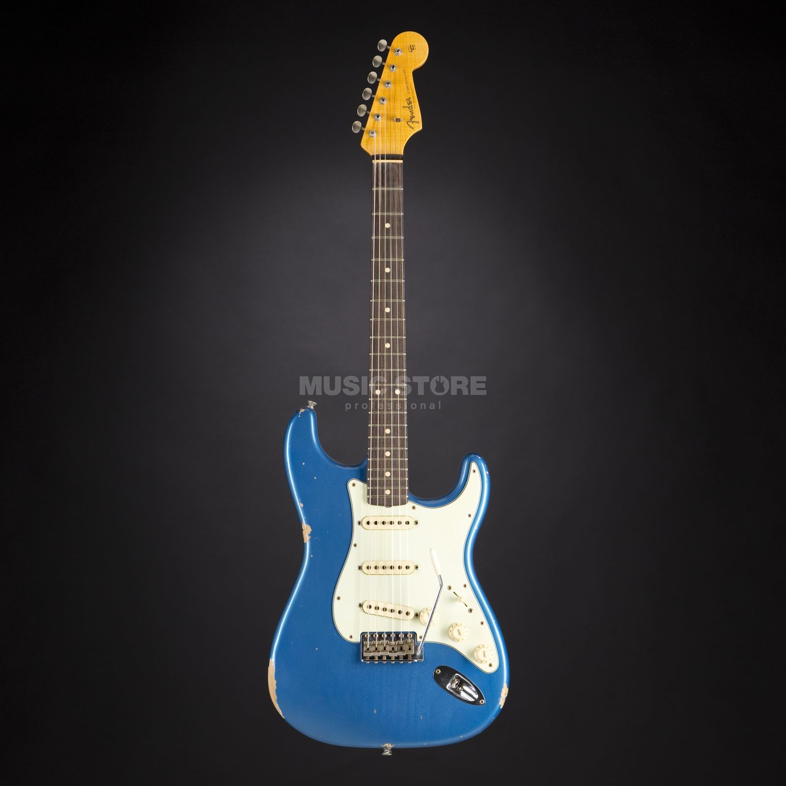 Fender 1961 Relic Stratocaster Aged Lake Placid Blue #CZ526828 Product Image