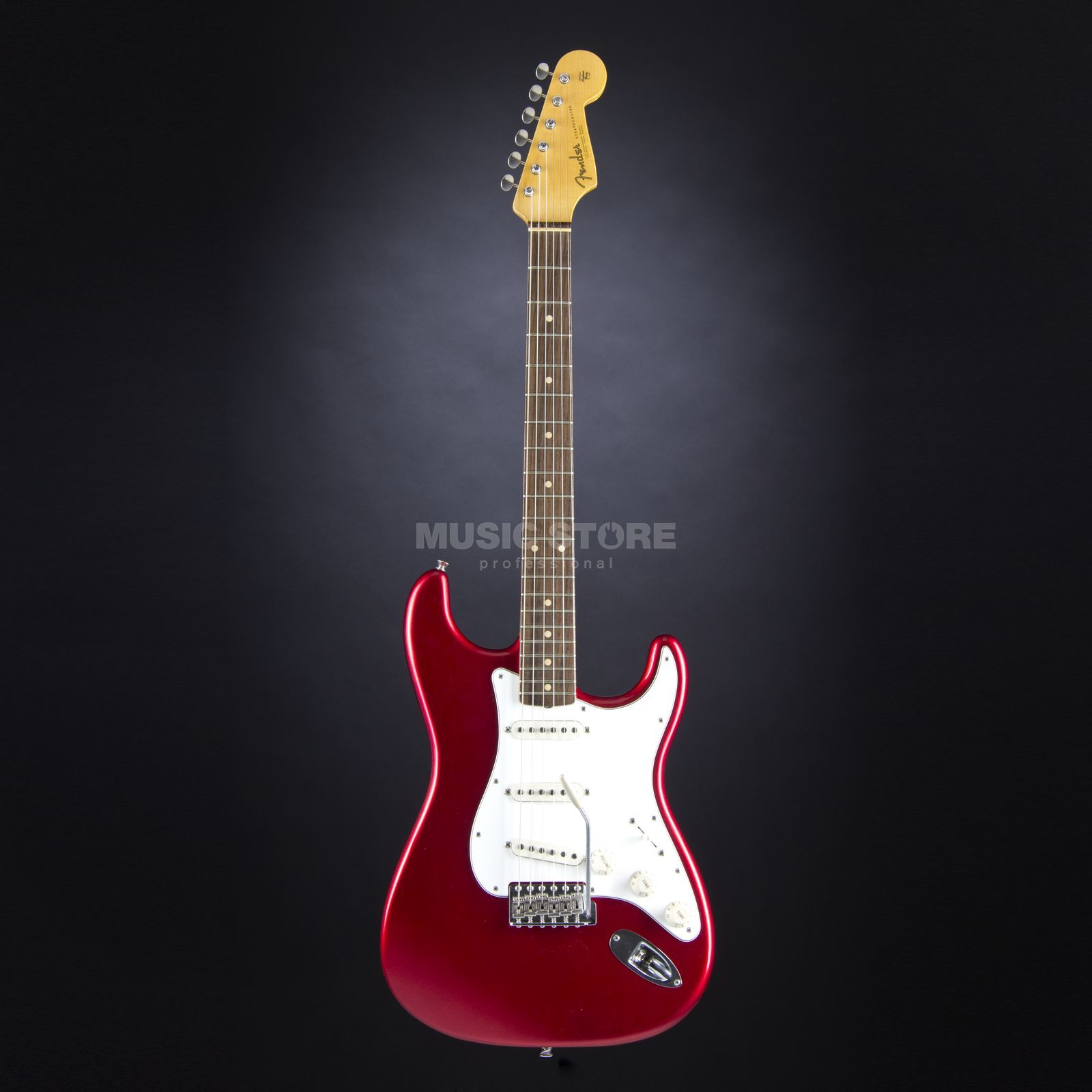 Fender 60 Duo Tone Strat Relic RW CAR Candy Apple Red Produktbillede