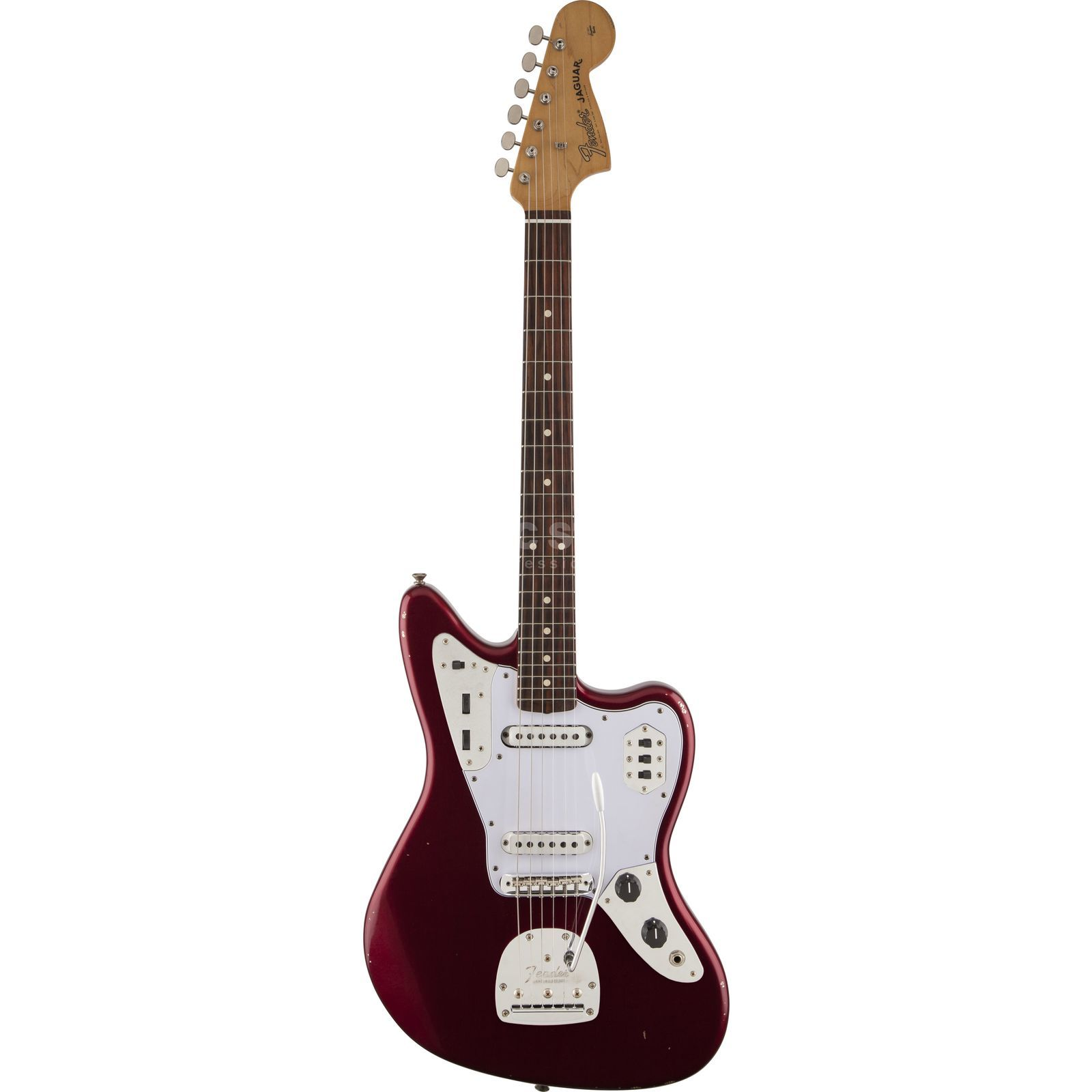 Fender 60s Road Worn Jaguar CAR Candy Apple Red Produktbild