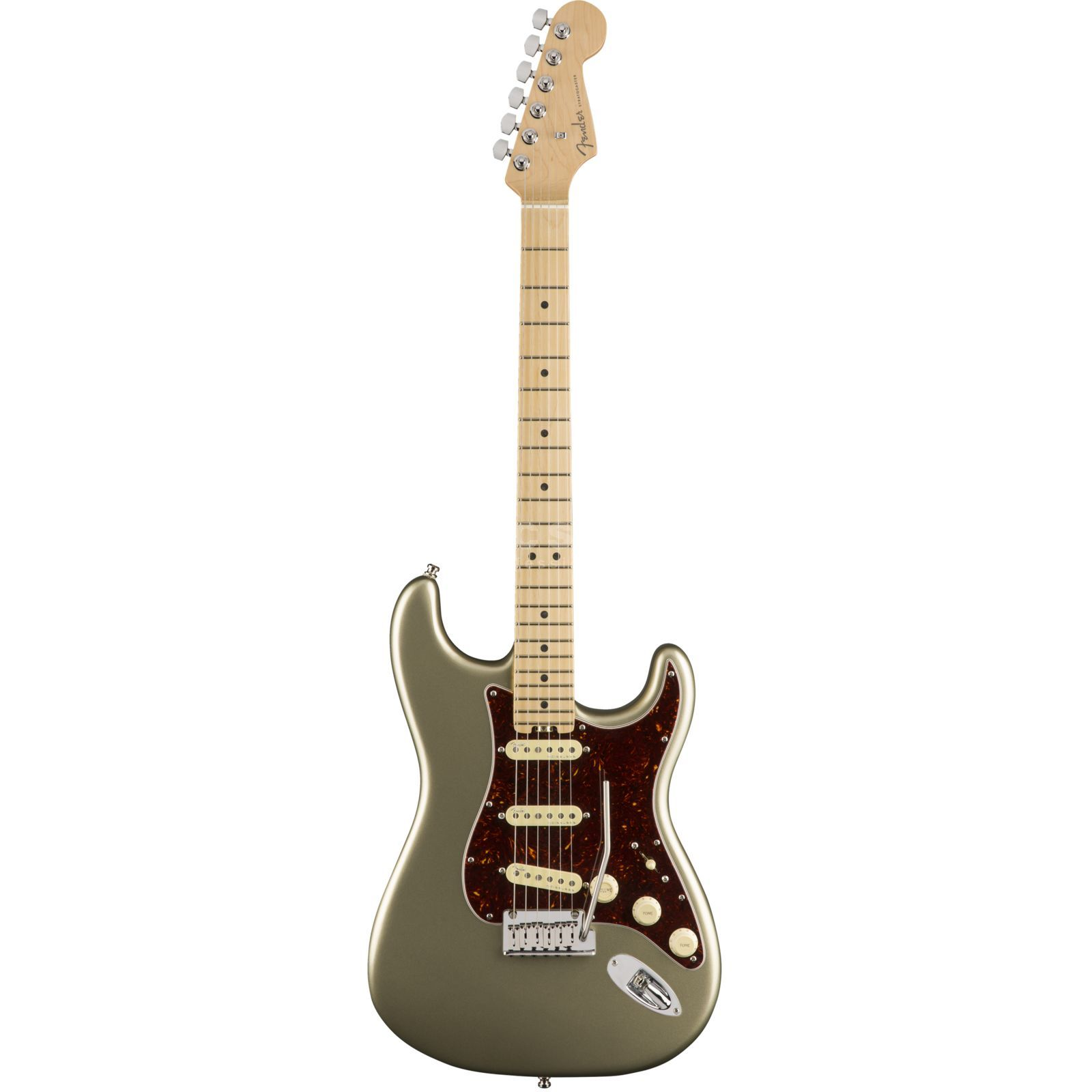Fender American Elite Stratocaster MN Champagne Product Image
