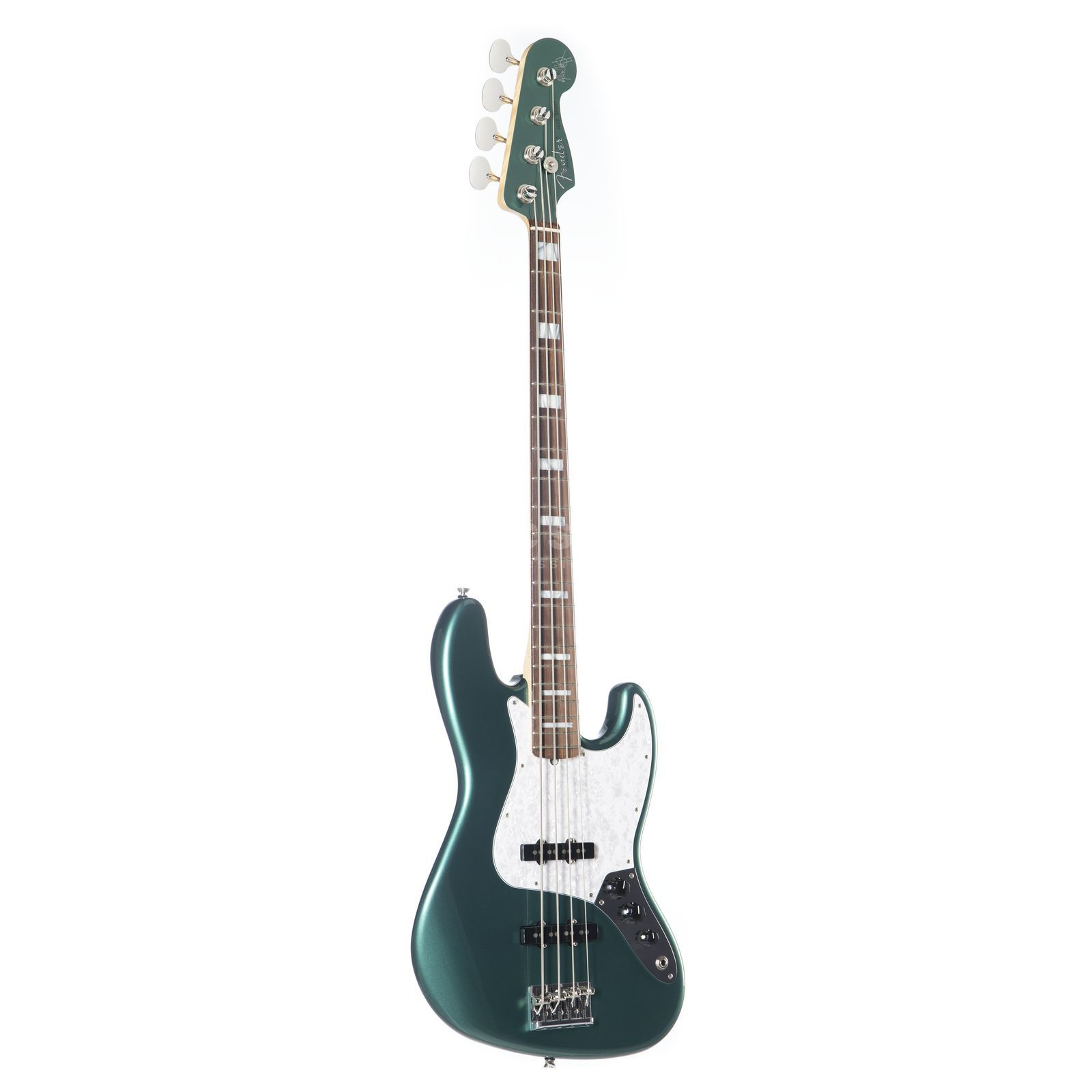 Fender AS Adam Clayton J-Bass RW SGM Sherwood Green Metallic MH Immagine prodotto