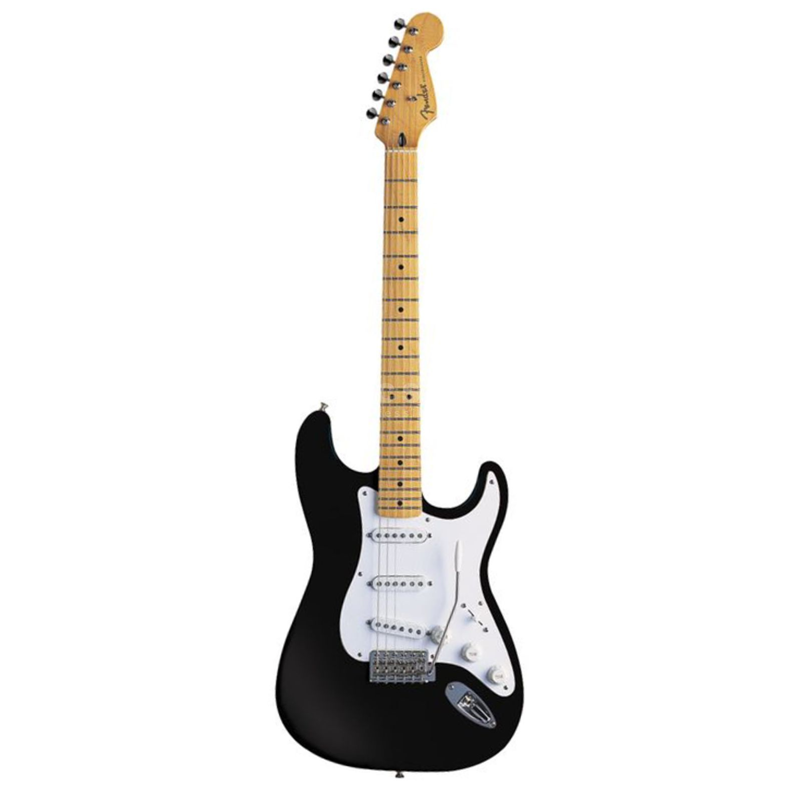Fender AS Jimmie Vaughan Strat MN BLK Black Produktbild