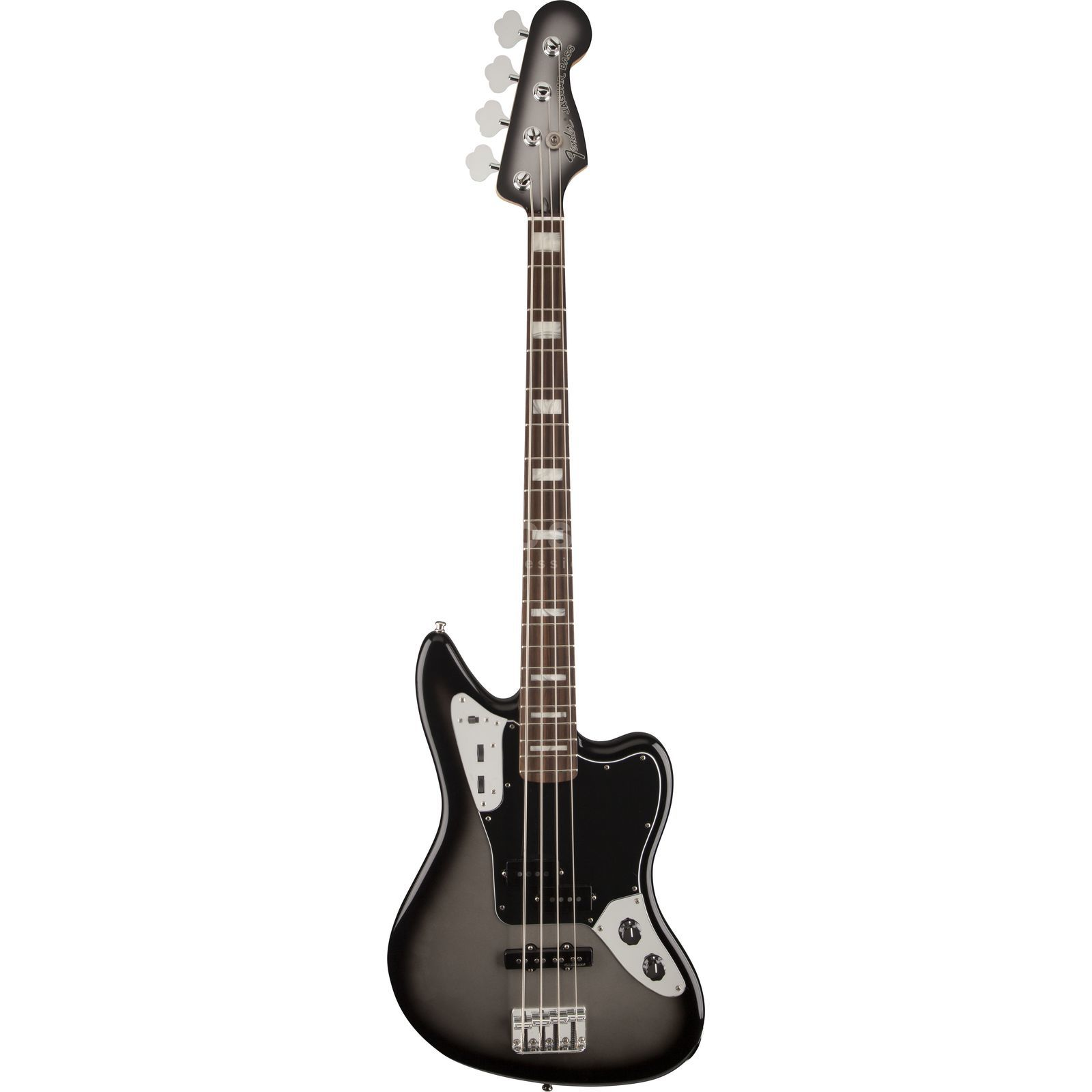Fender AS Troy Sanders Jaguar RW SIB Silverburst Product Image