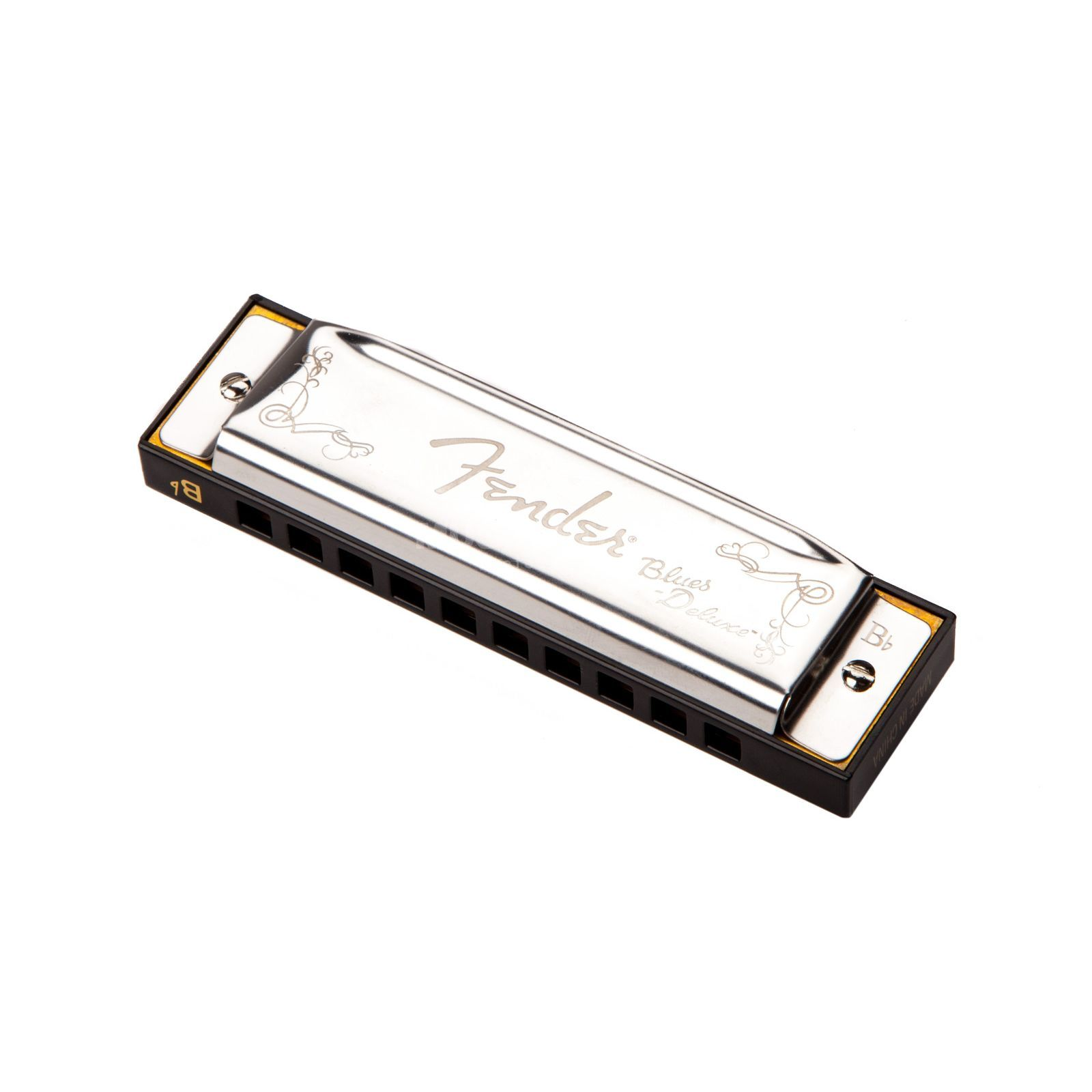 Fender Blues Deluxe Harmonica Key of D Immagine prodotto