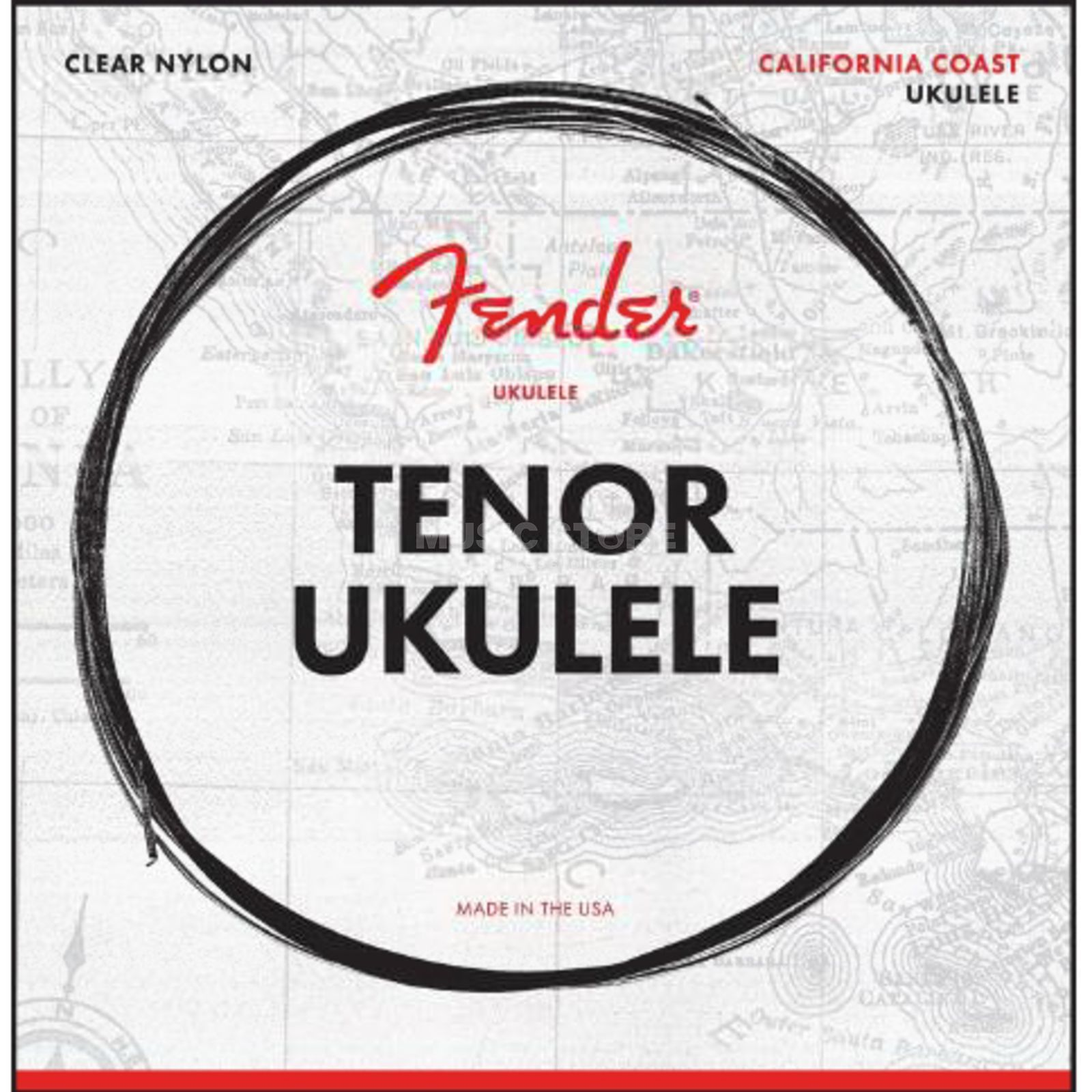 Fender California Coast Tenor Ukulele Strings Product Image