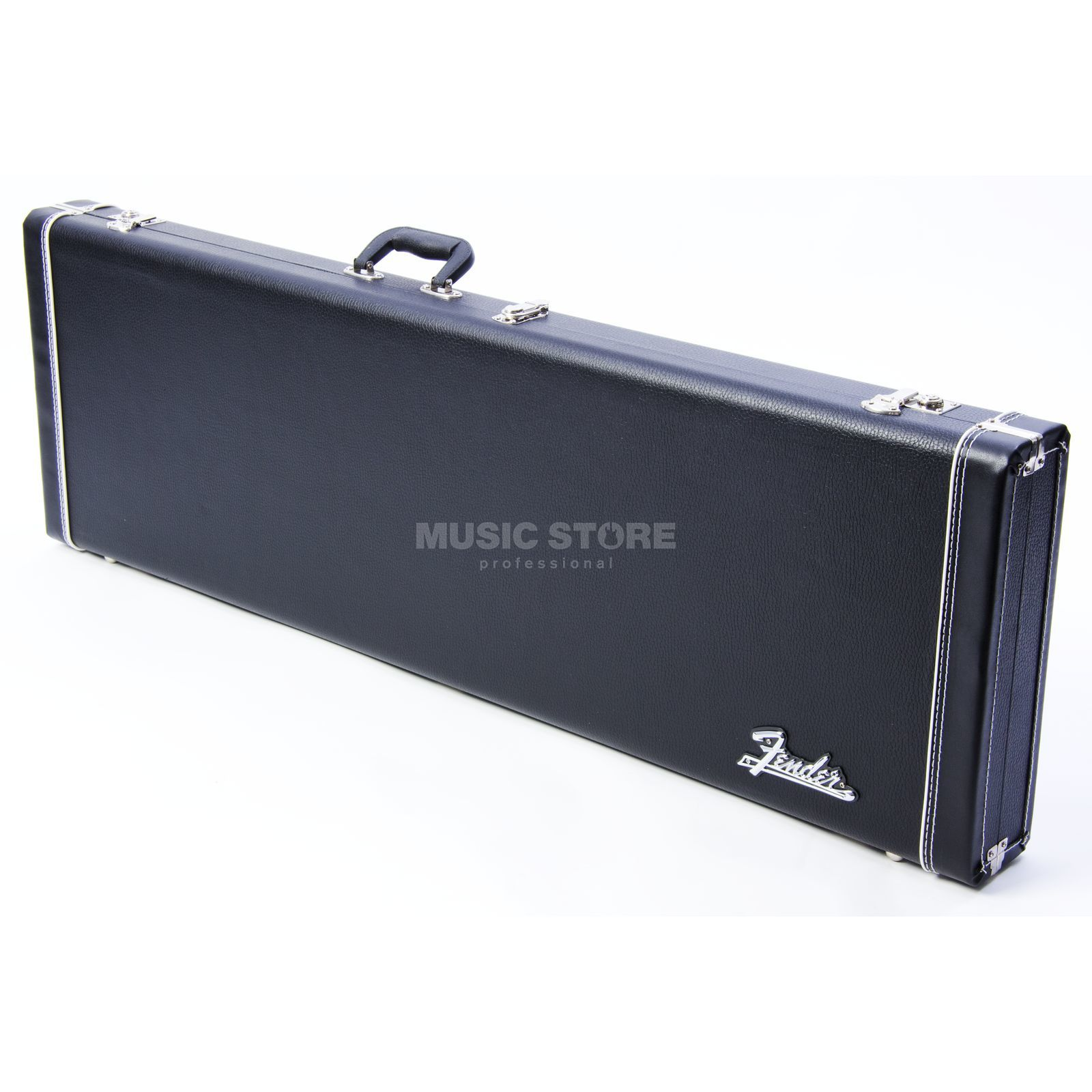 Fender Case Pro Series P+J-Bass Black Woodcase Black Tolex Produktbild
