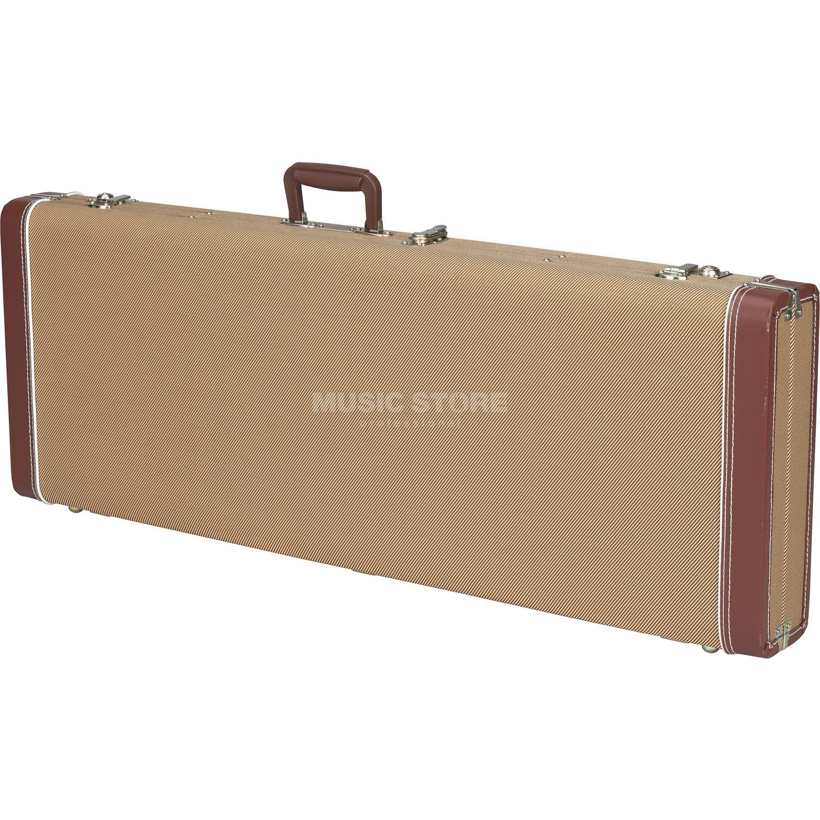 Fender Case Pro Series P+J-Bass Tweed Woodcase Tweed Imagem do produto