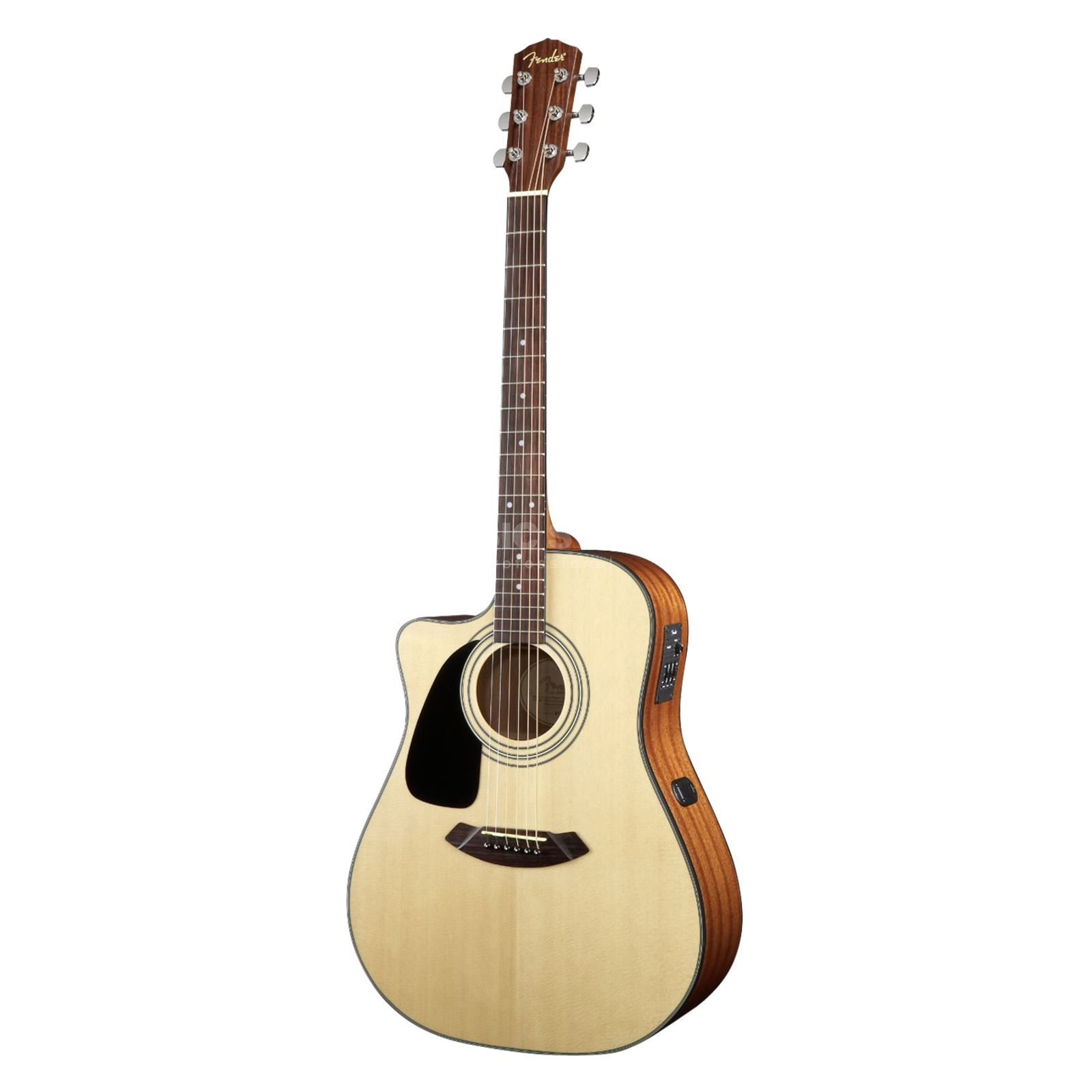 Fender CD-100CE LH Left Handed Electr o Acoustic Guitar, Natural   Produktbillede