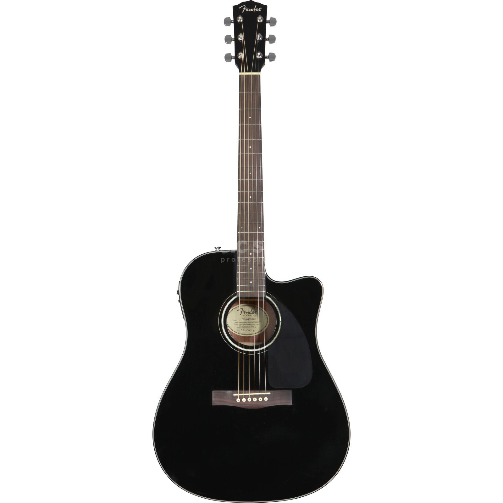 Fender CD-140 SCE BLK Black Produktbild